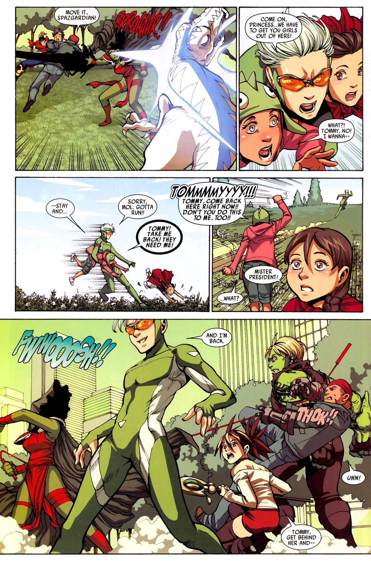 Read online Secret Invasion: Runaways/Young Avengers comic -  Issue #3 - 18