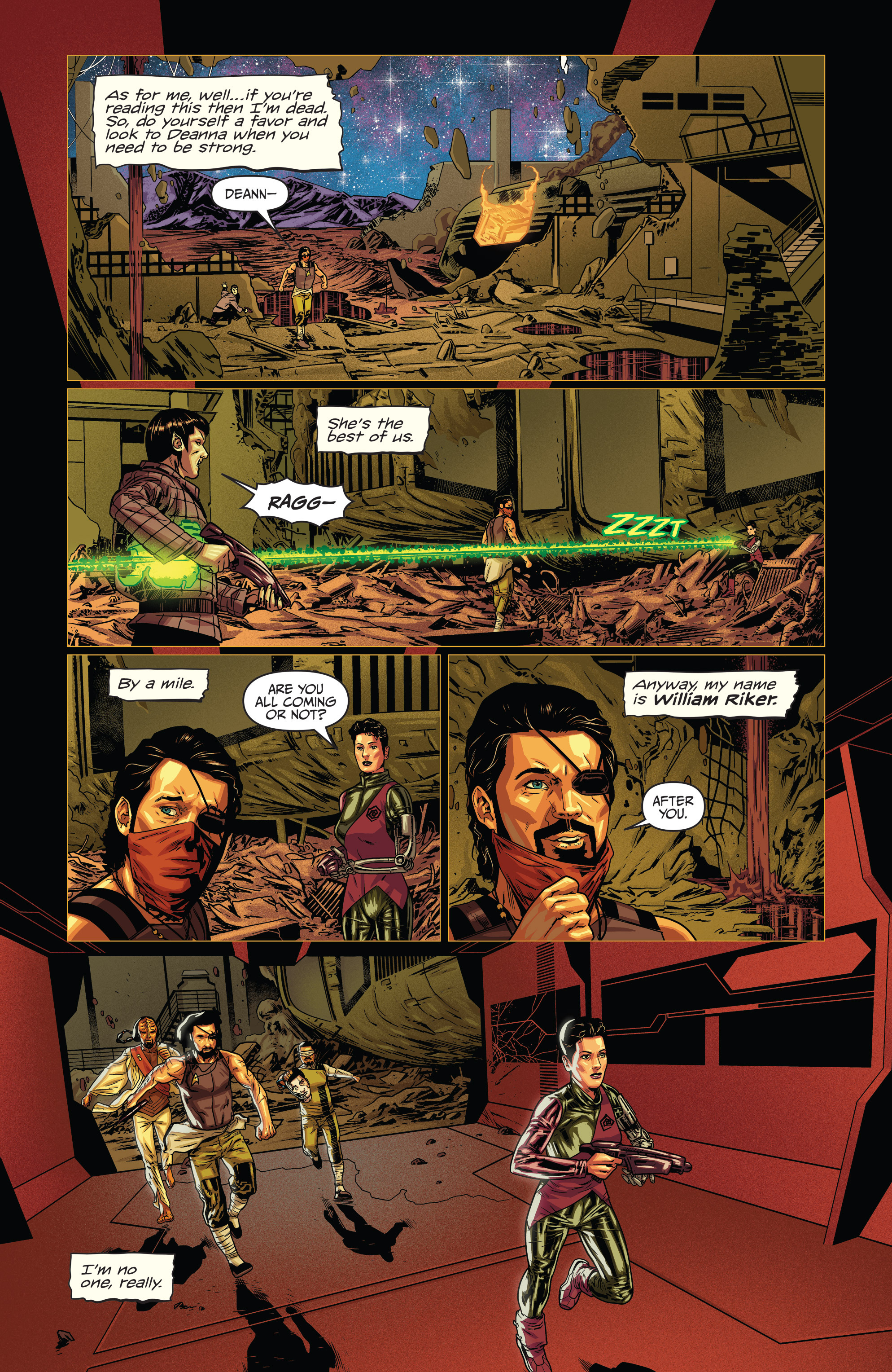Read online Star Trek: Deviations comic -  Issue # Full - 10