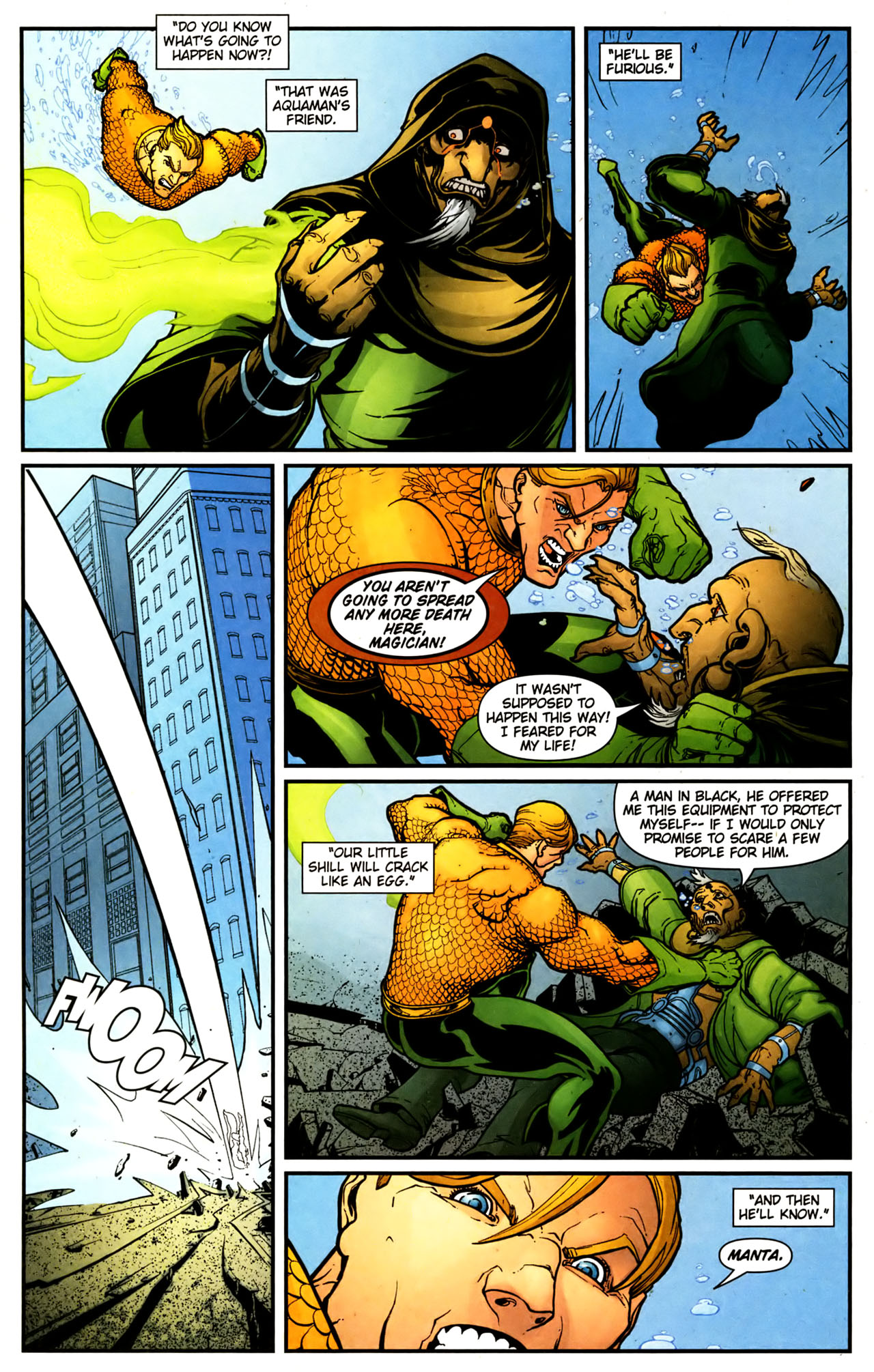 Read online Aquaman (2003) comic -  Issue #39 - 12