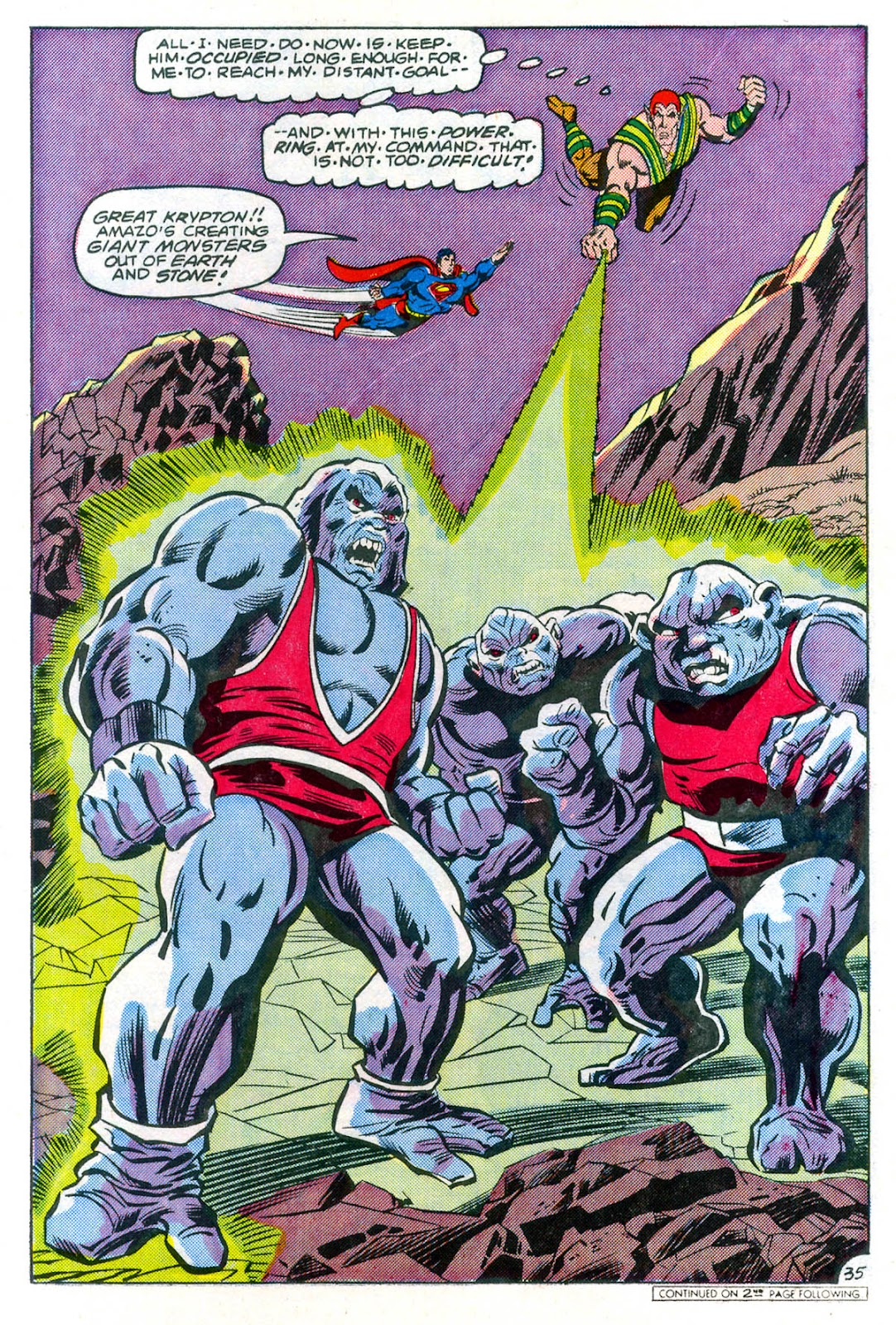 Read online Superman Special (1983) comic -  Issue #3 - 36