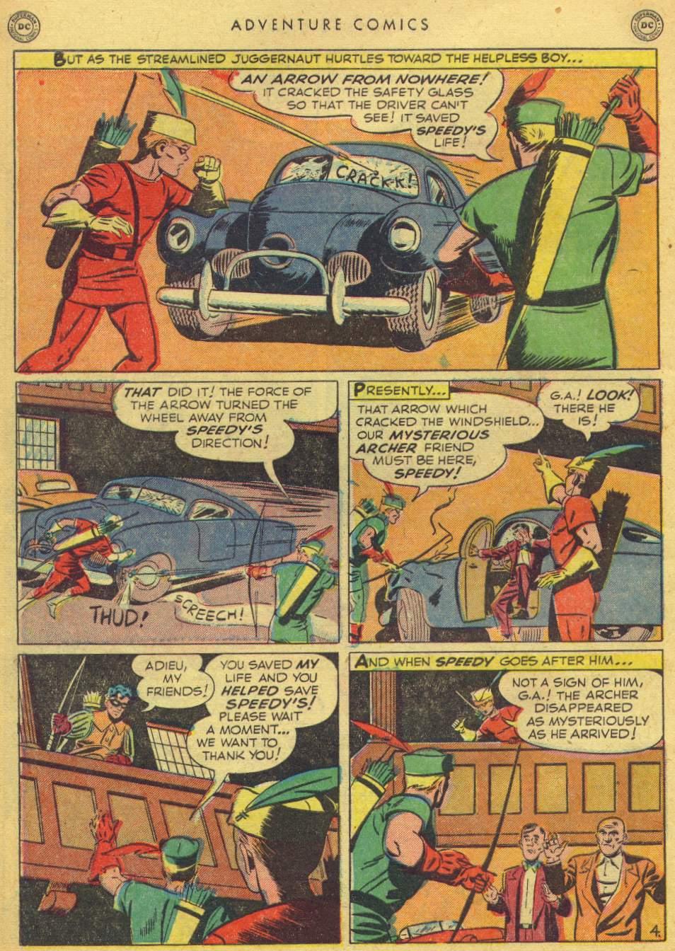 Read online Adventure Comics (1938) comic -  Issue #162 - 42
