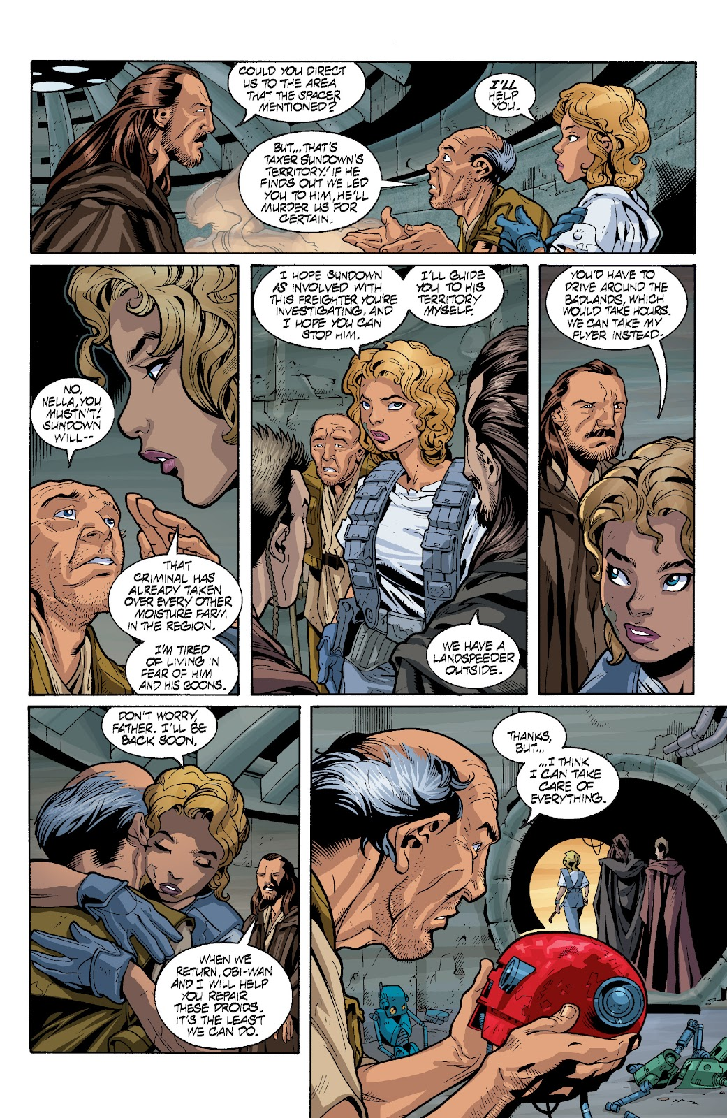 Read online Star Wars Legends: Rise of the Sith - Epic Collection comic -  Issue # TPB 1 (Part 4) - 2