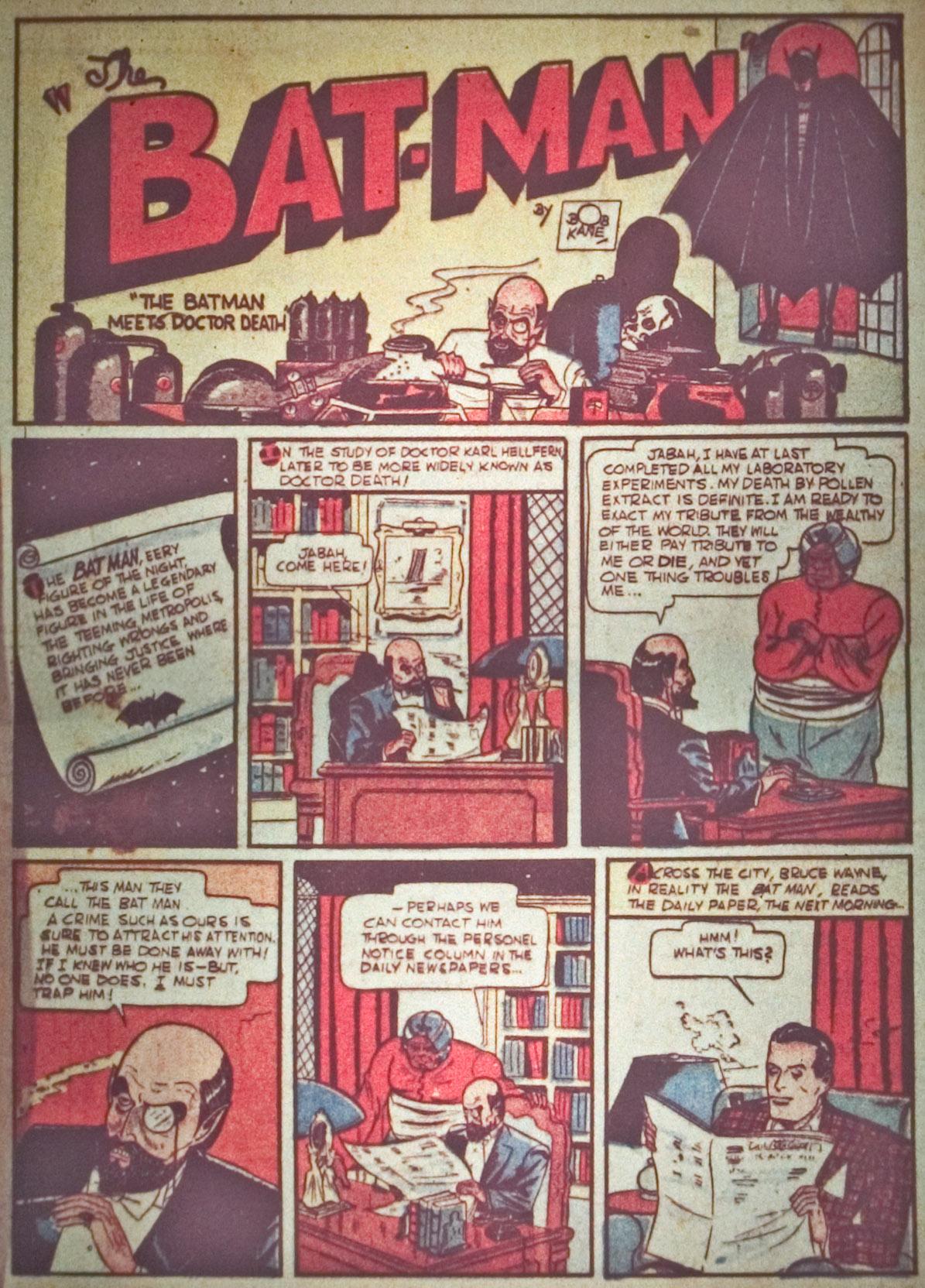 Detective Comics (1937) 29 Page 2