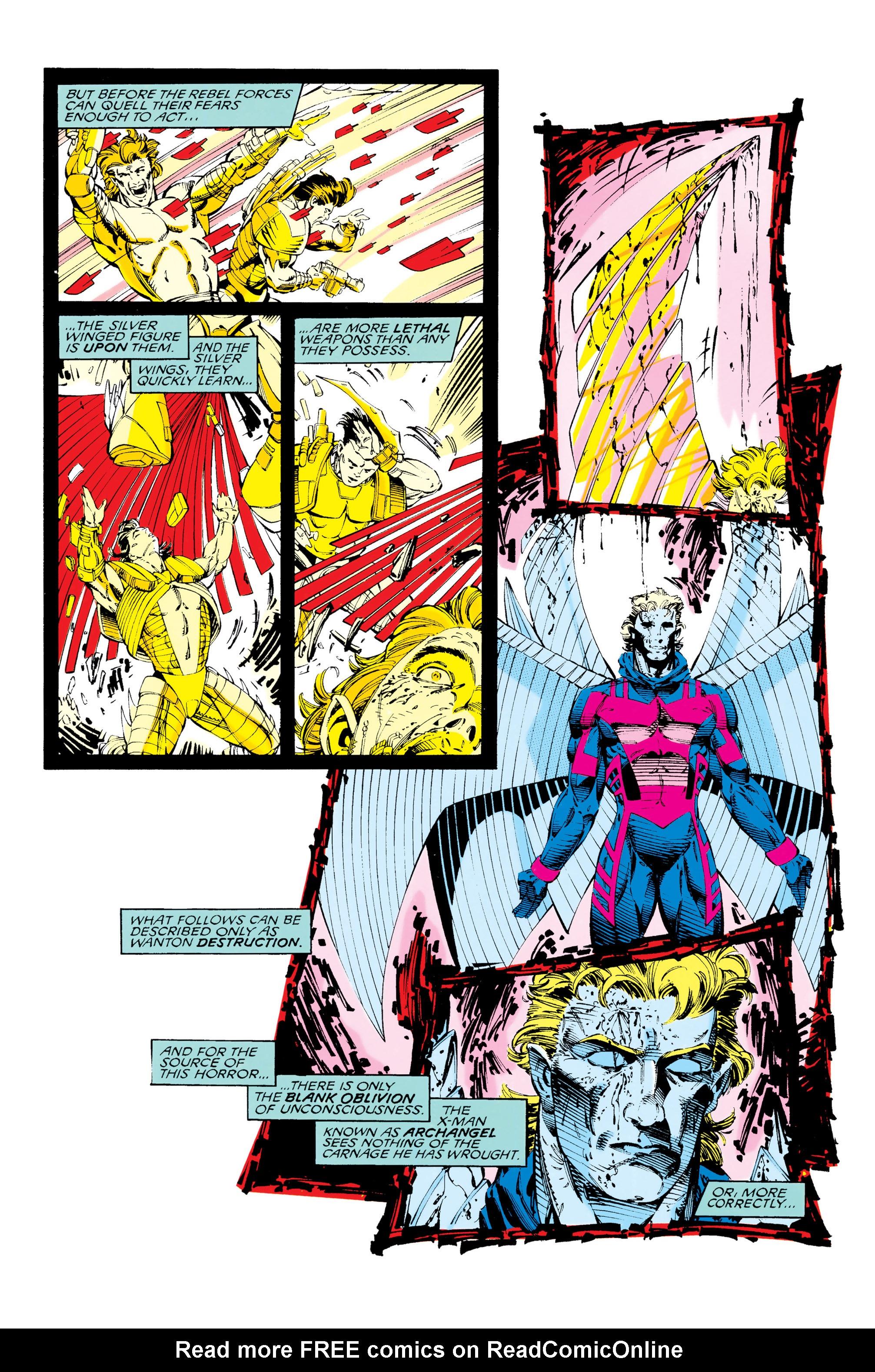 Read online Uncanny X-Men (1963) comic -  Issue #285 - 10