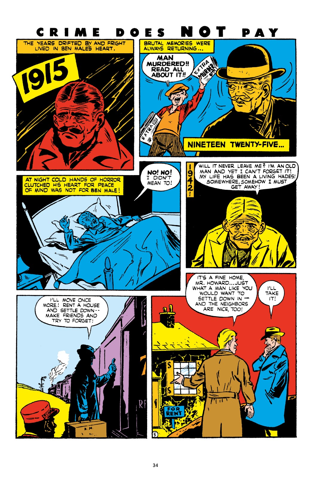 Read online Crime Does Not Pay Archives comic -  Issue # TPB 6 (Part 1) - 36