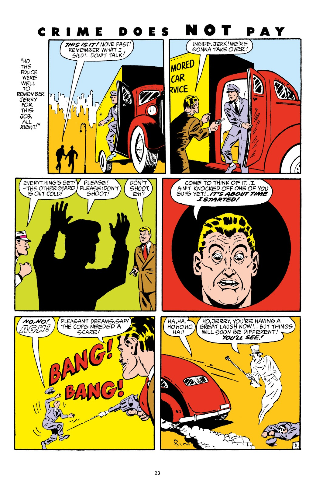 Read online Crime Does Not Pay Archives comic -  Issue # TPB 5 (Part 1) - 23