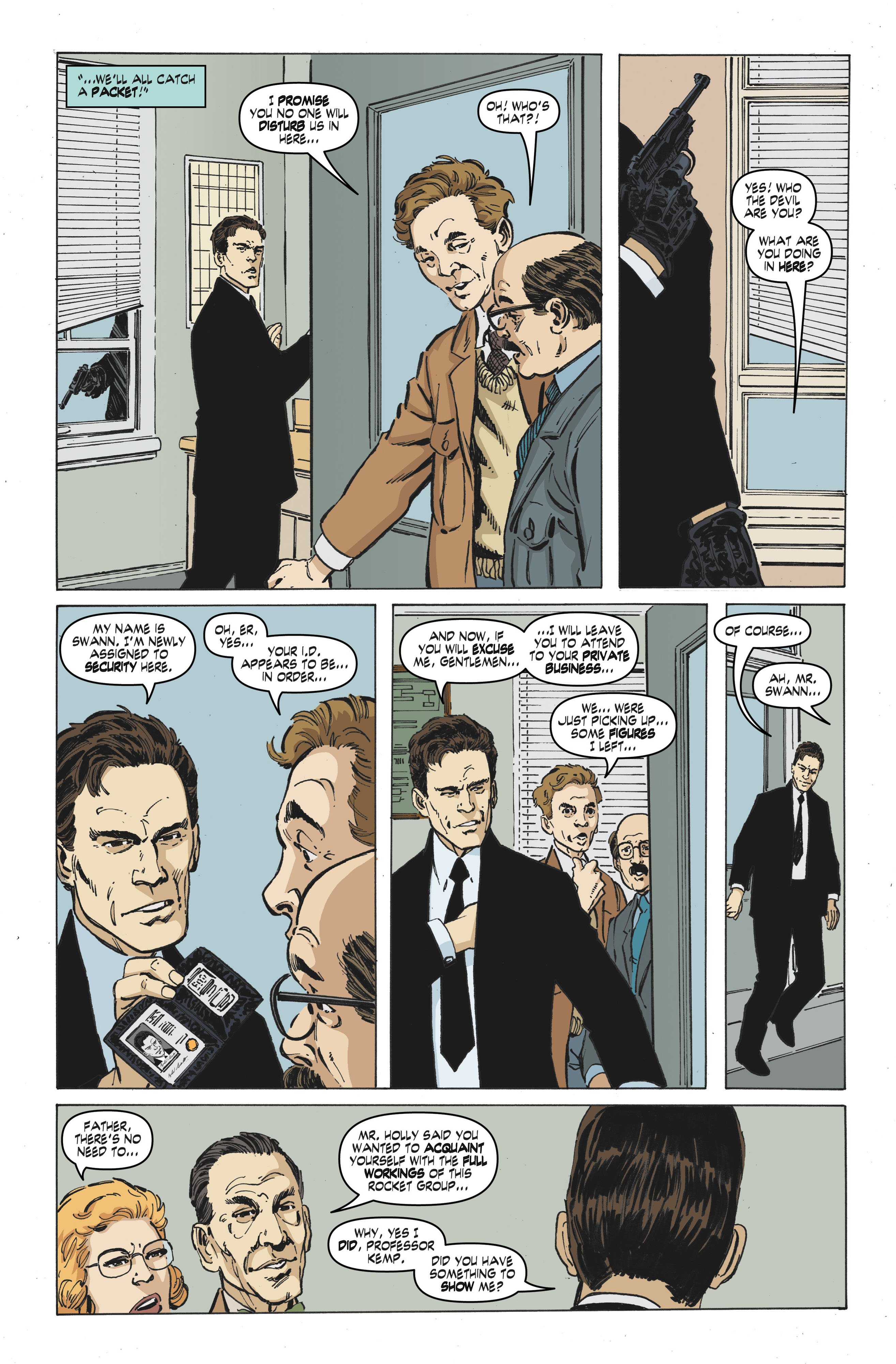 Read online Cold War comic -  Issue # TPB - 36