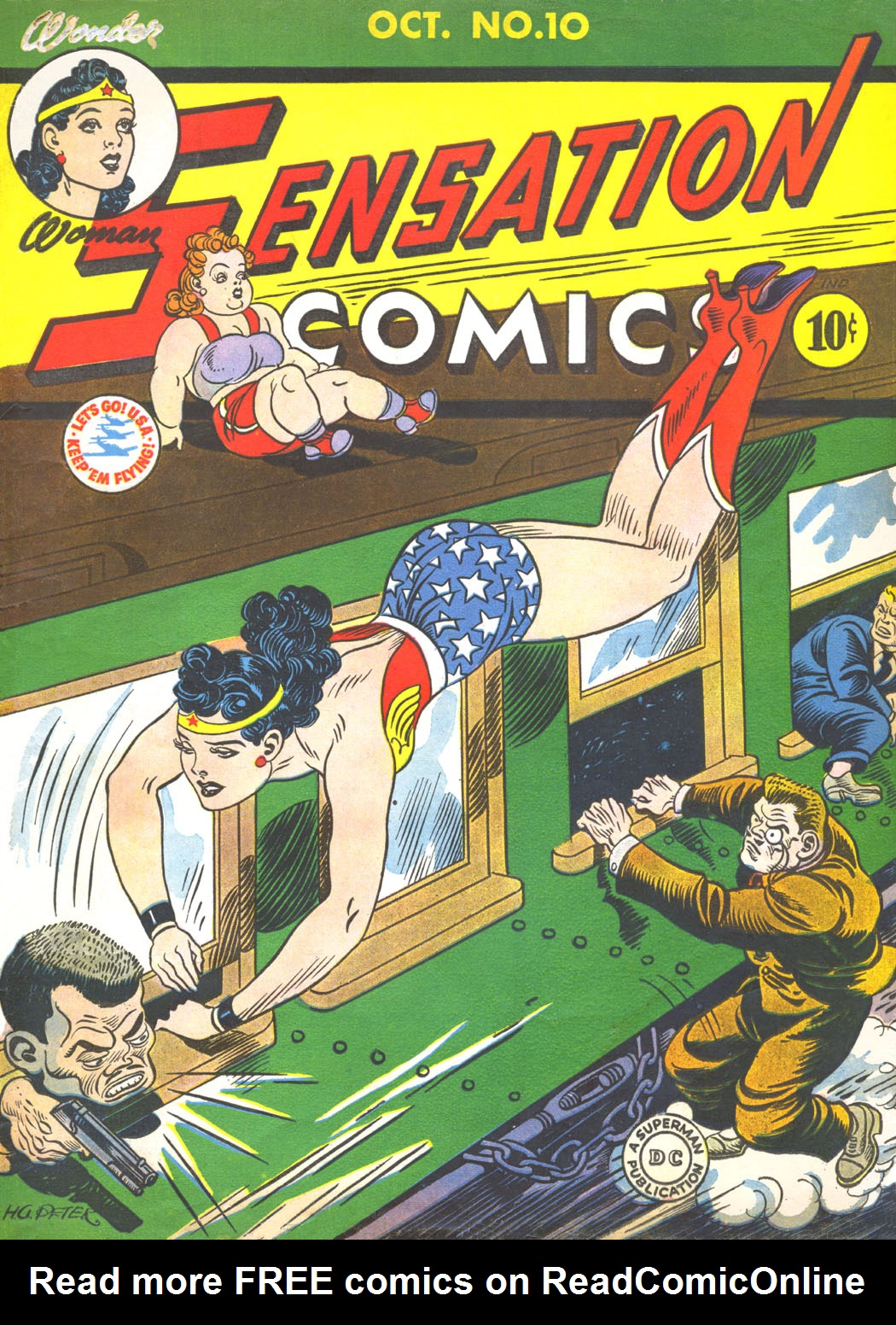 Read online Sensation (Mystery) Comics comic -  Issue #10 - 1