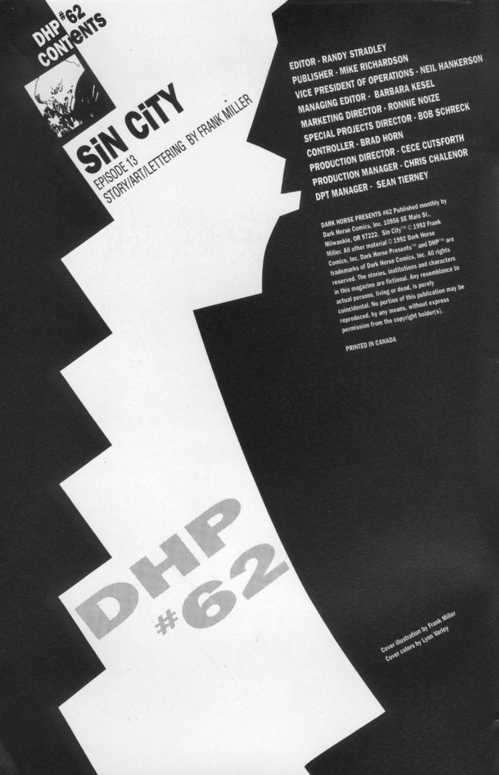 Dark Horse Presents (1986) 62 Page 2