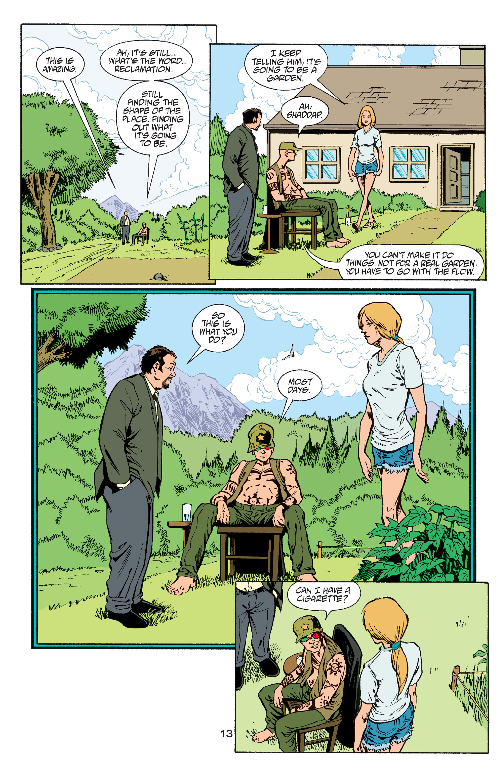 Read online Transmetropolitan comic -  Issue #60 - 13