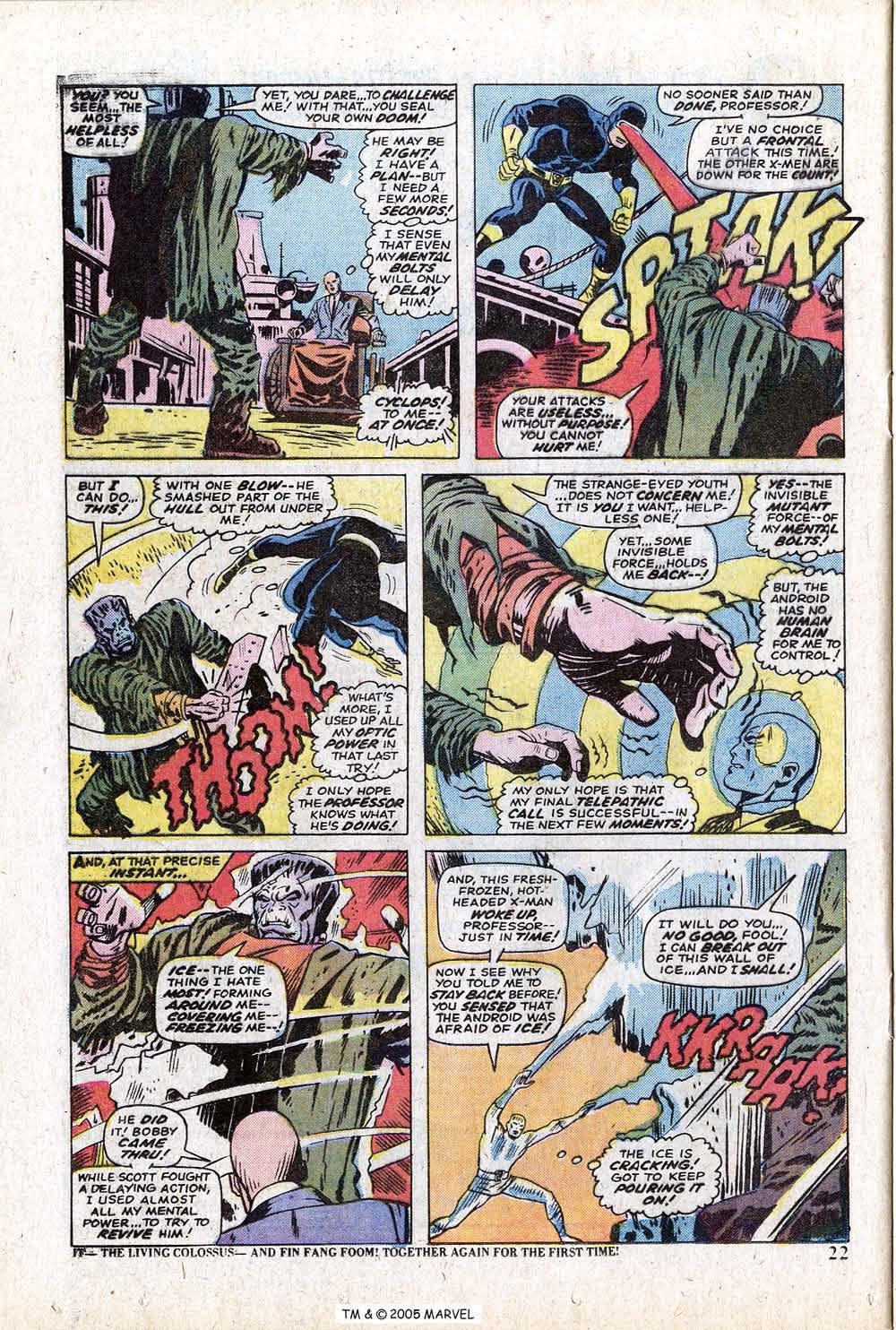 Uncanny X-Men (1963) 88 Page 23