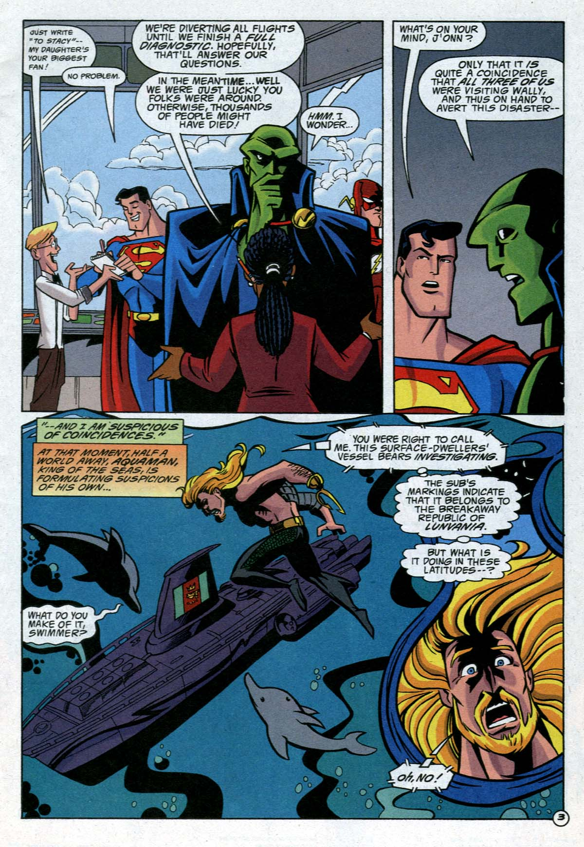 Read online Adventures in the DC Universe comic -  Issue #12 - 4