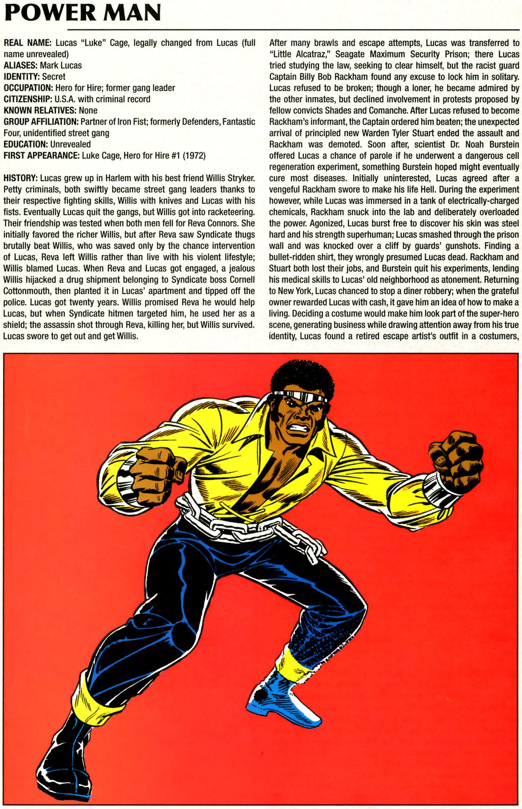 Read online Marvel Legacy: The 1970's Handbook comic -  Issue # Full - 46