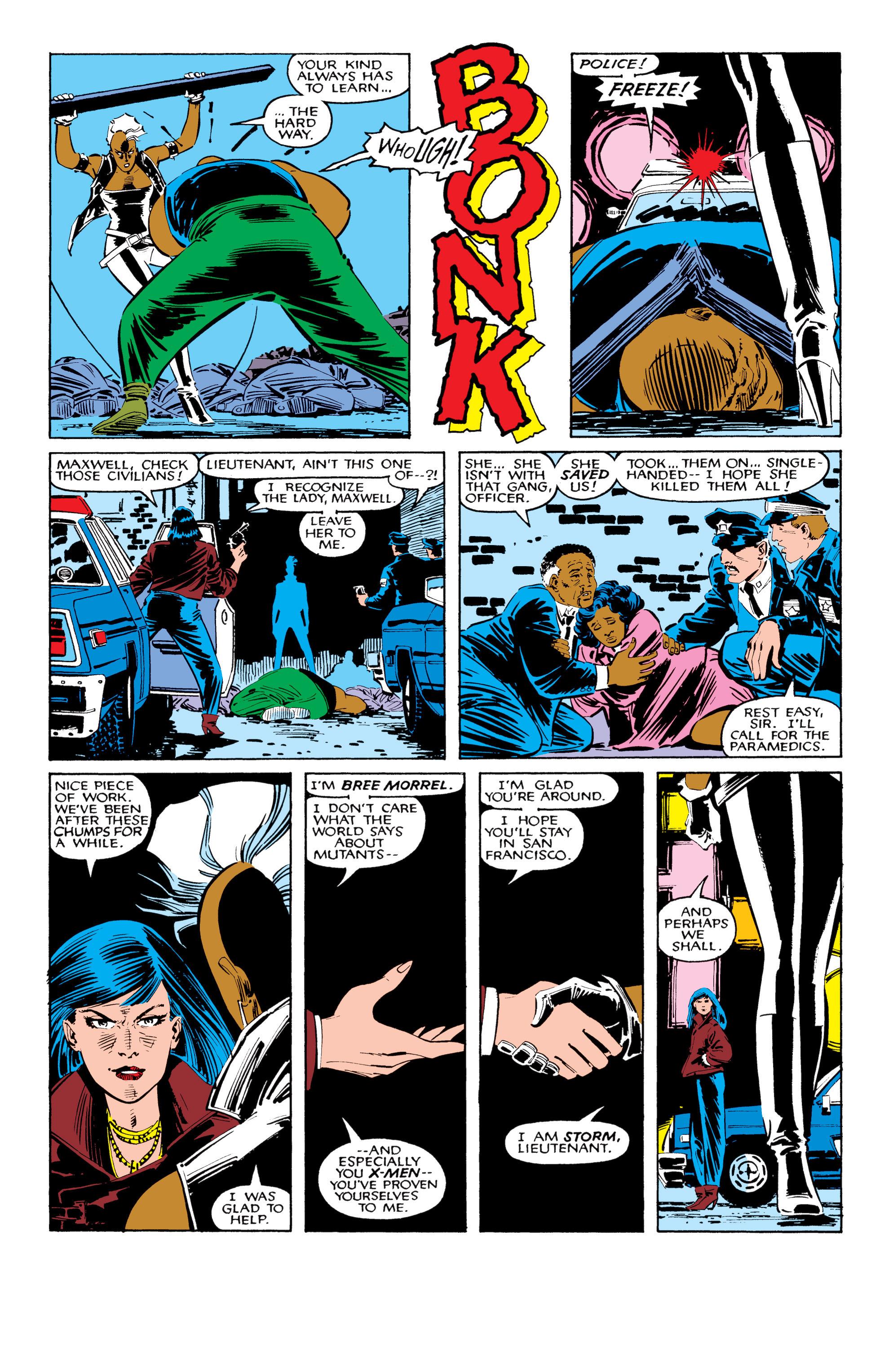 Read online Uncanny X-Men (1963) comic -  Issue #206 - 5