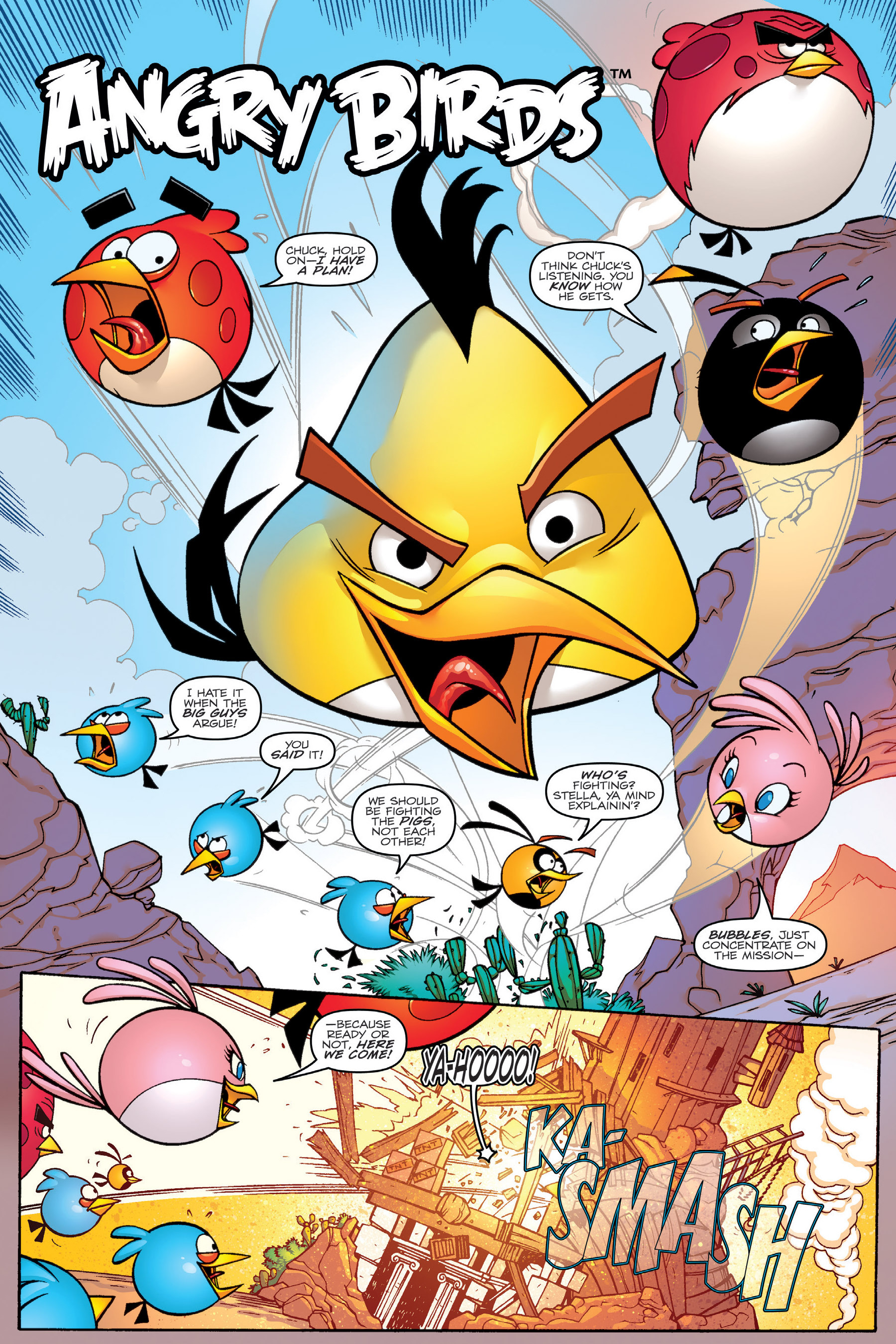 Read online Angry Birds Transformers: Age of Eggstinction comic -  Issue # Full - 11