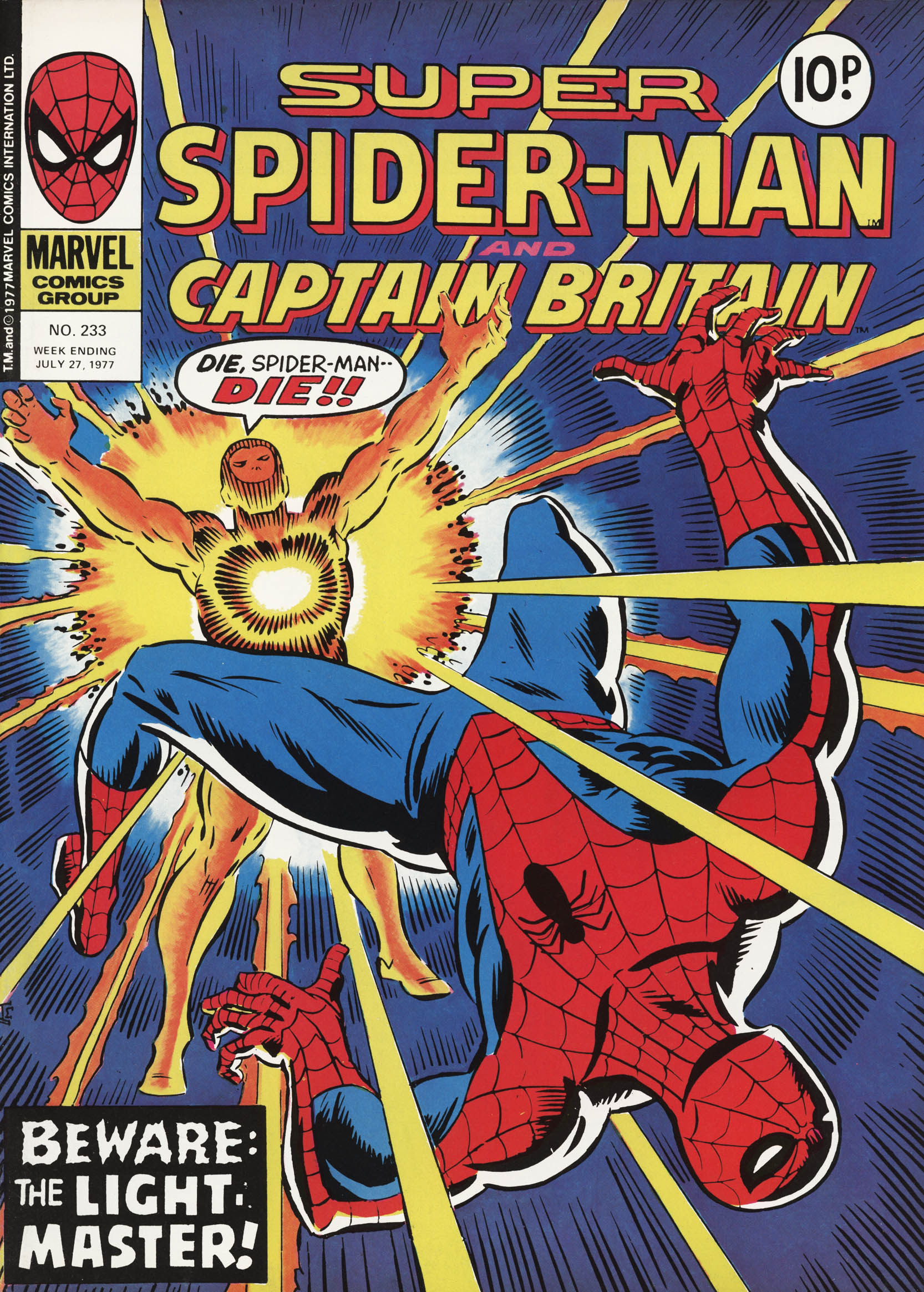 Super Spider-Man and Captain Britain 233 Page 1