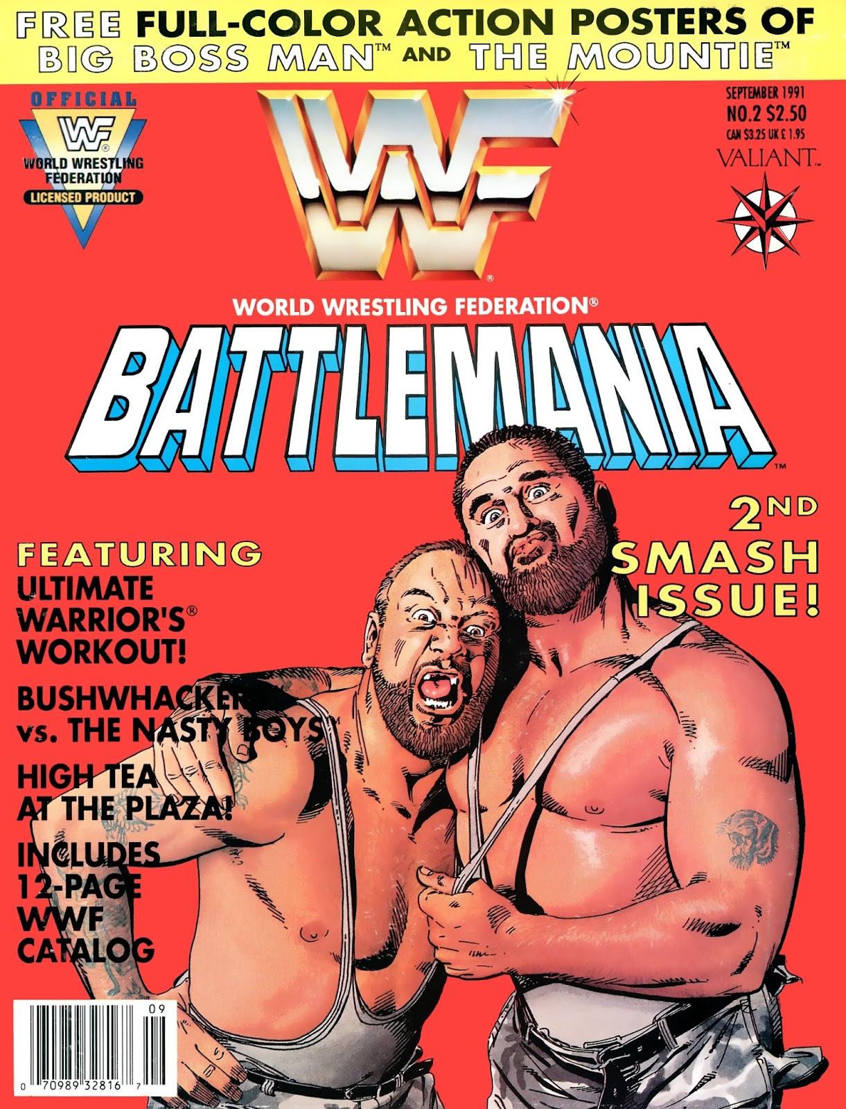 WWF Battlemania 2 Page 1
