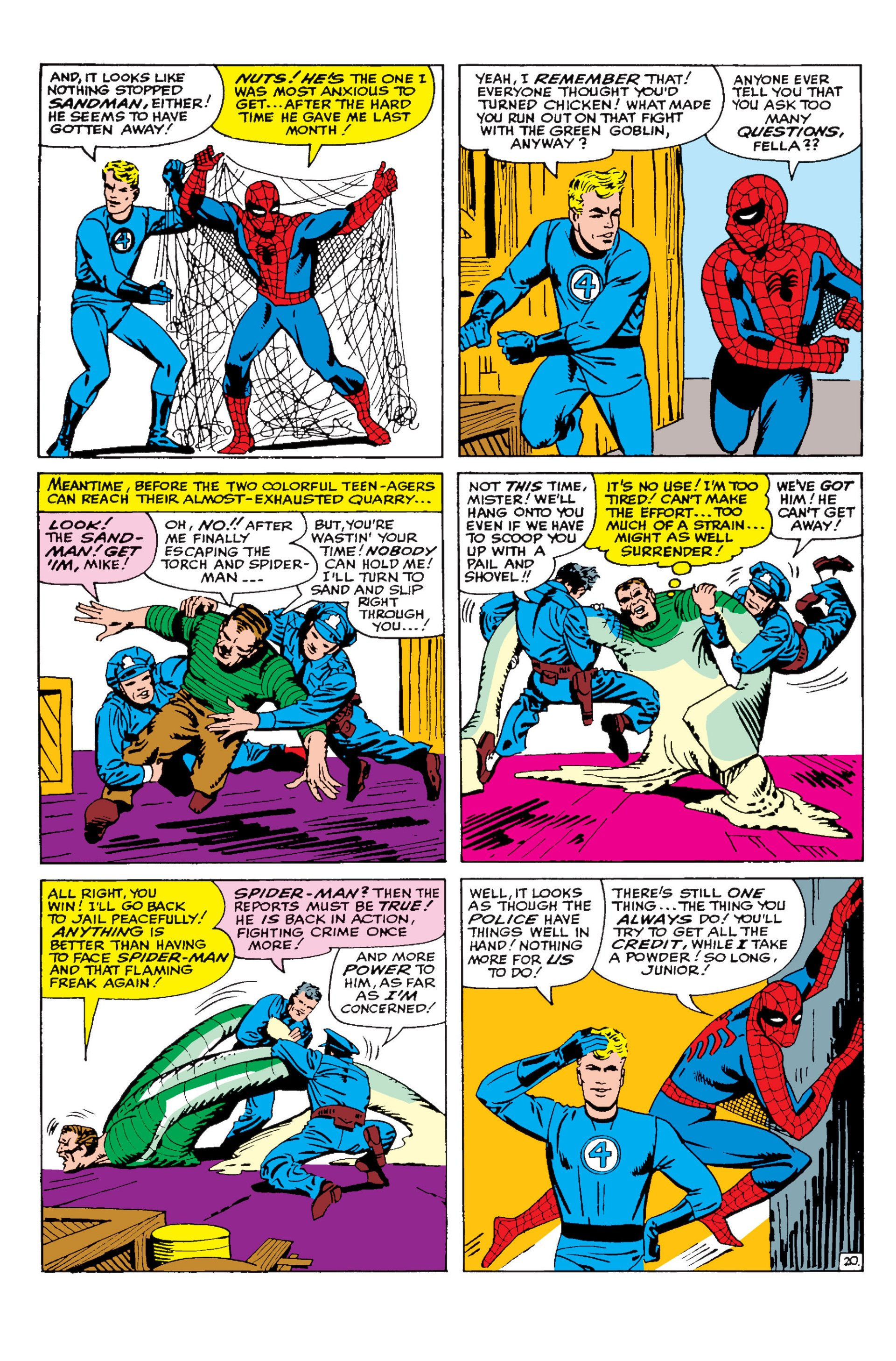The Amazing Spider-Man (1963) 19 Page 20