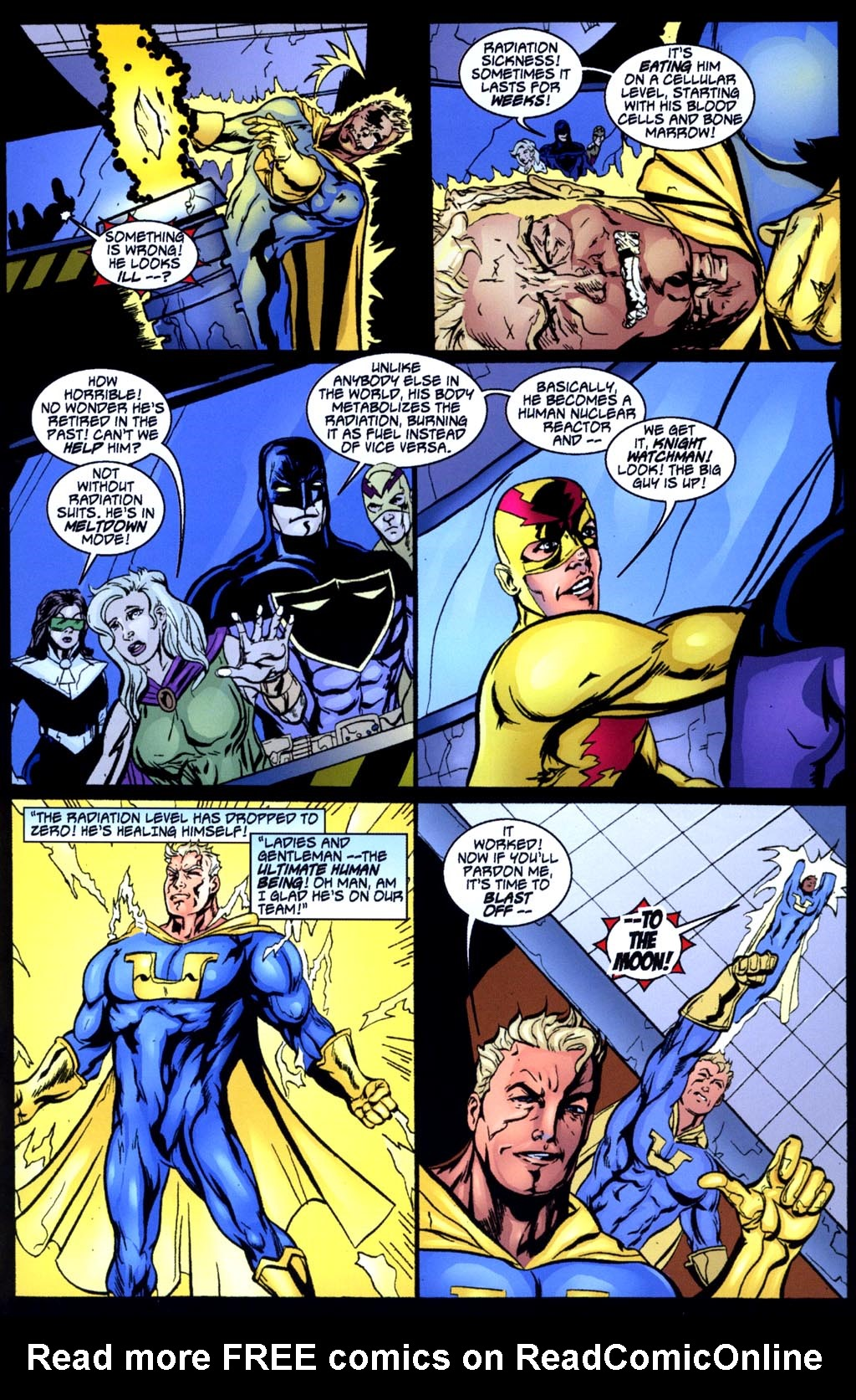 Read online Big Bang: Round Table of America comic -  Issue # Full - 9