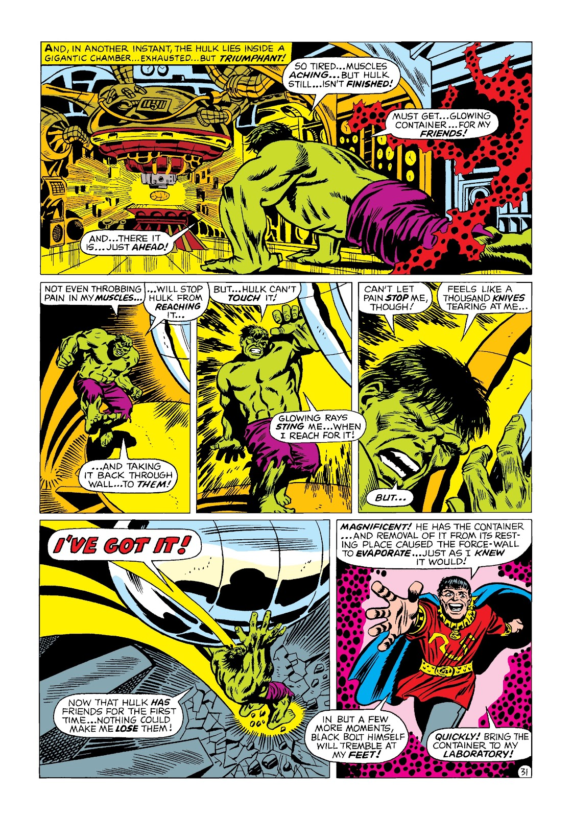 Read online Marvel Masterworks: The Incredible Hulk comic -  Issue # TPB 4 (Part 2) - 64