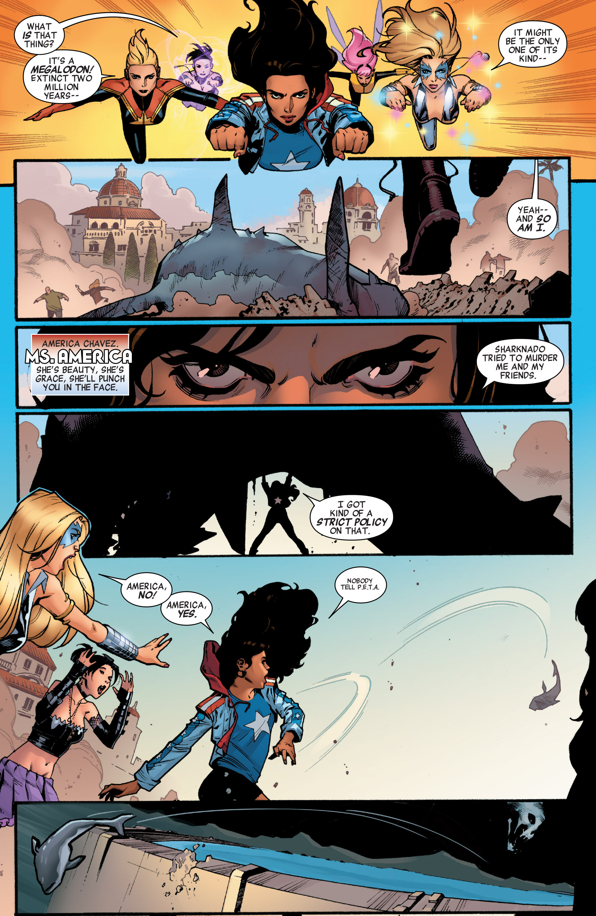 Read online A-Force (2015) comic -  Issue #1 - 10