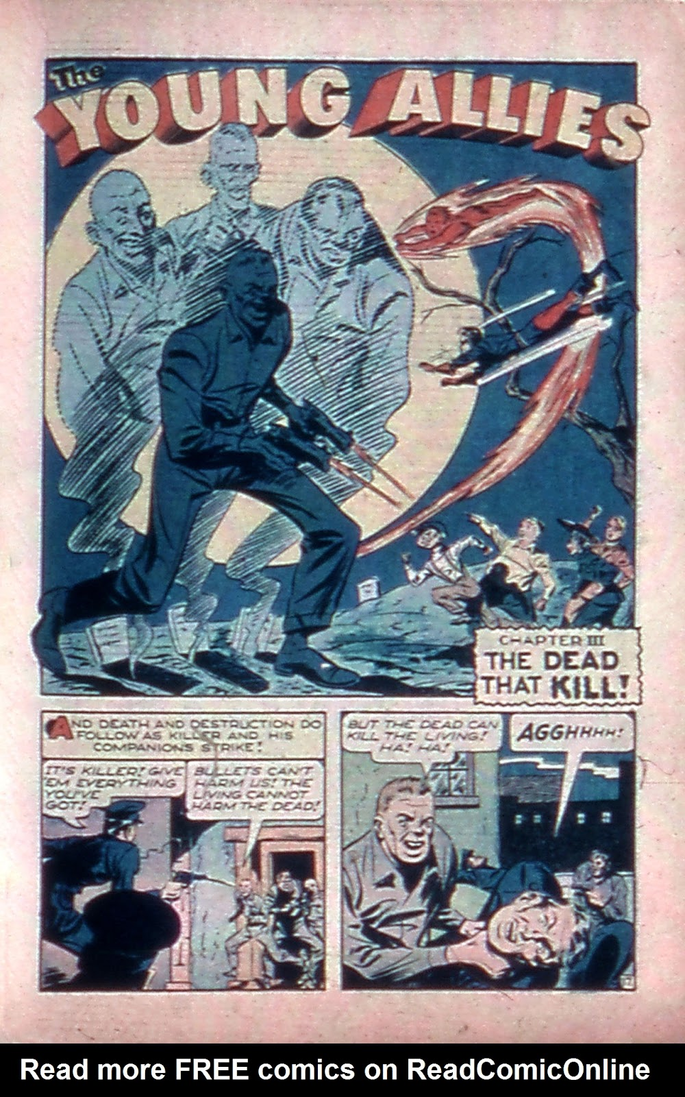 Read online Mystic Comics (1944) comic -  Issue #4 - 19