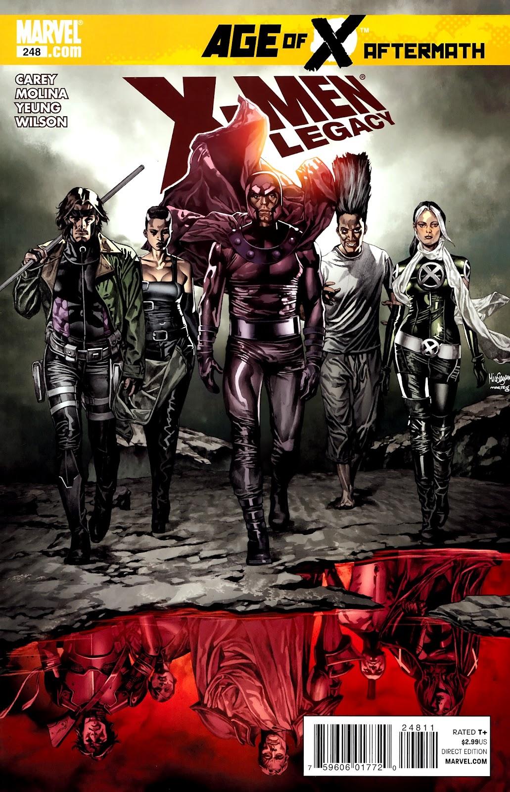 X-Men Legacy (2008) 248 Page 1