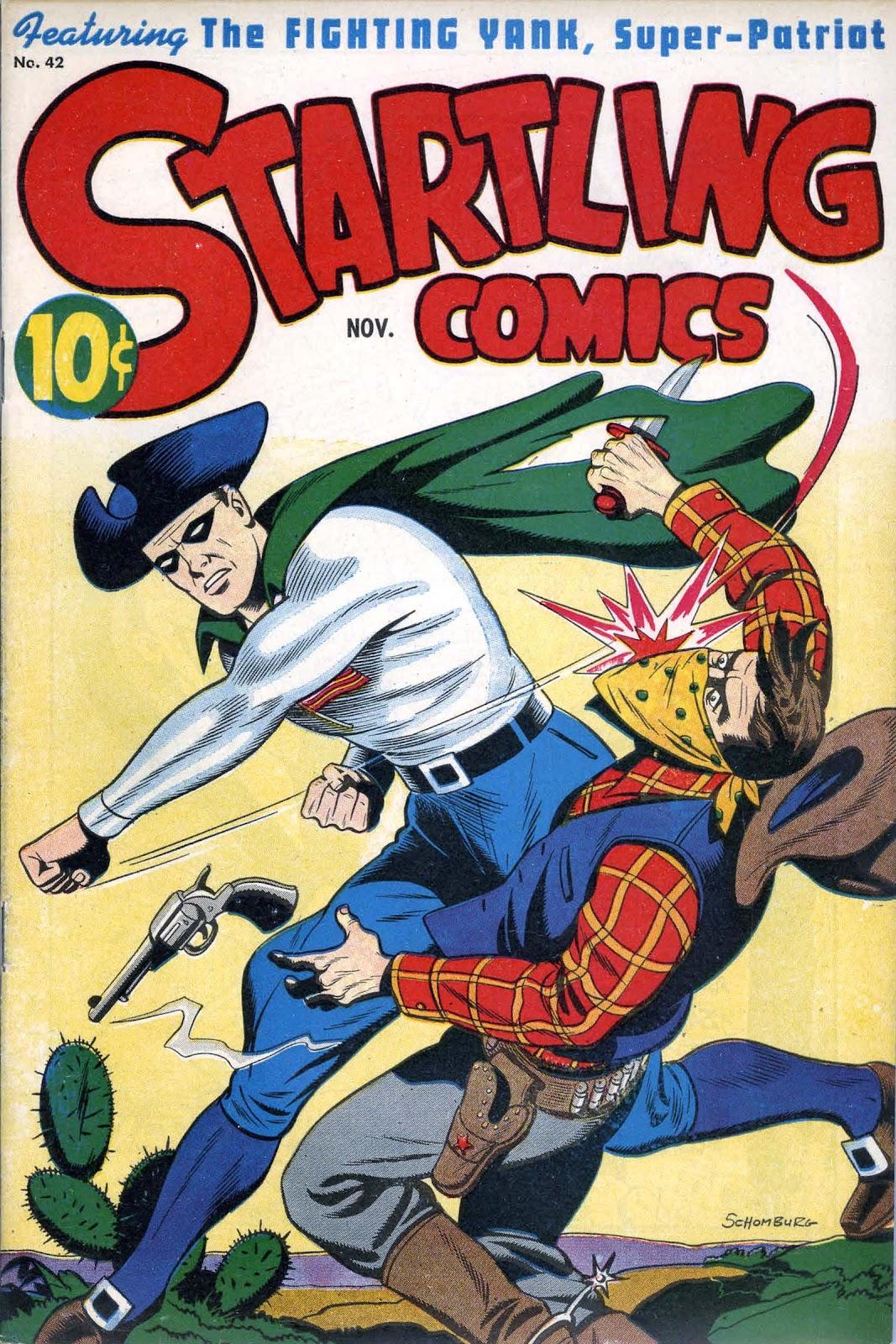 Startling Comics 42 Page 1