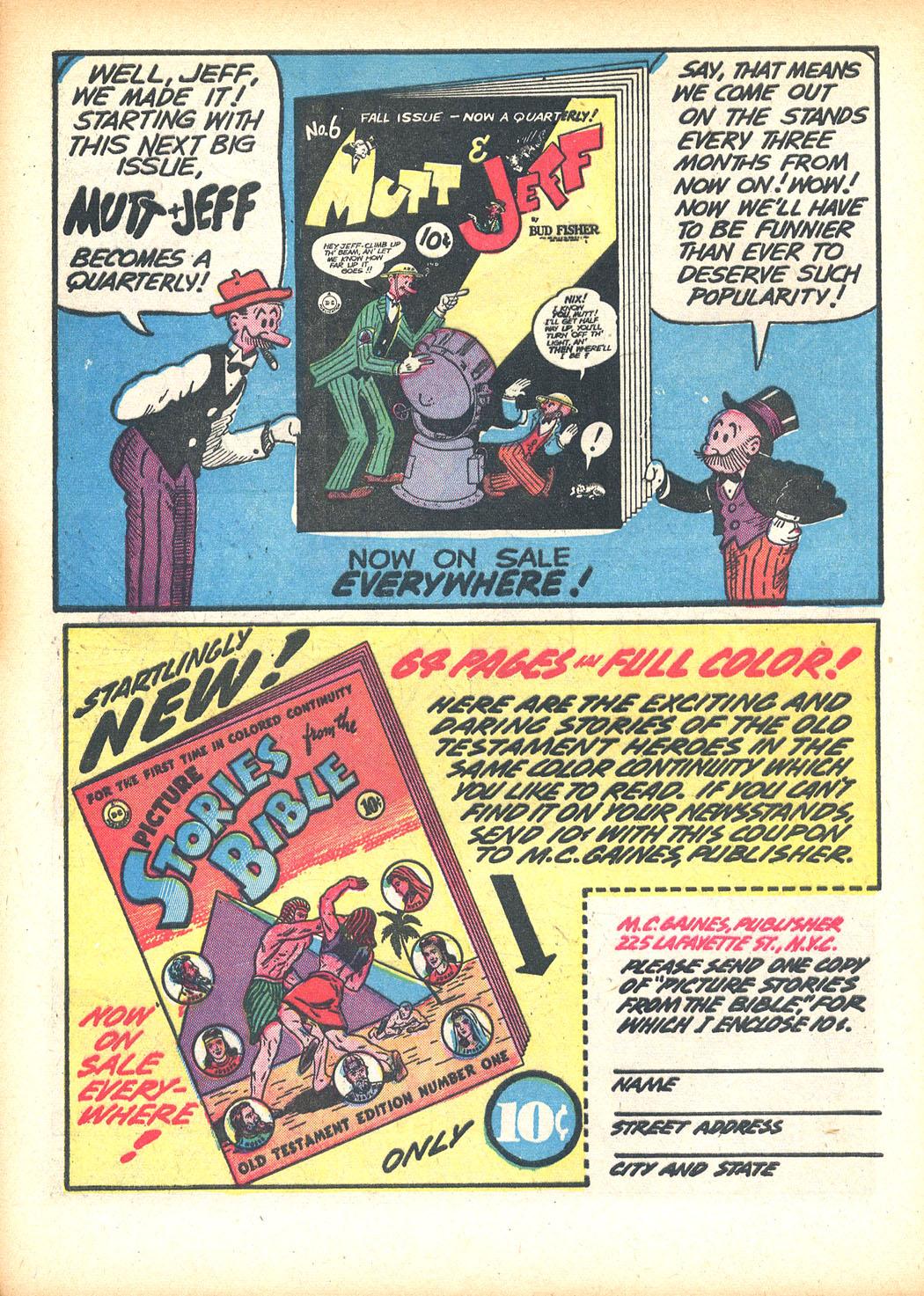 Read online Sensation (Mystery) Comics comic -  Issue #13 - 52