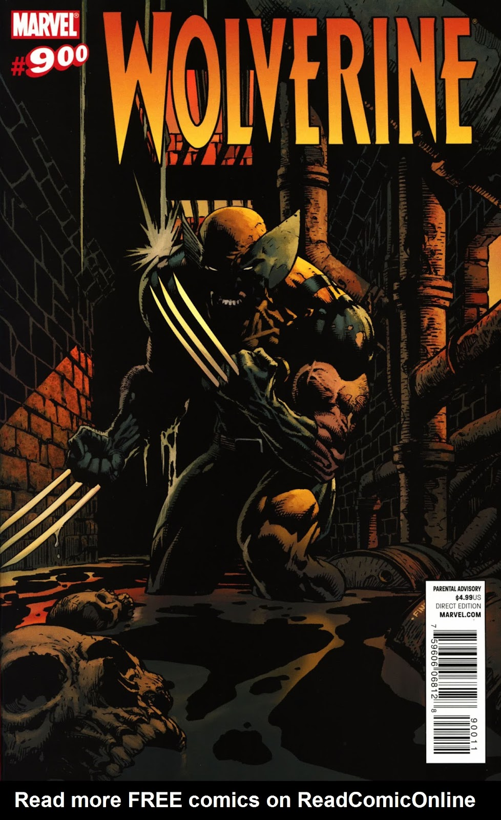 Read online Wolverine (2003) comic -  Issue #900 - 1