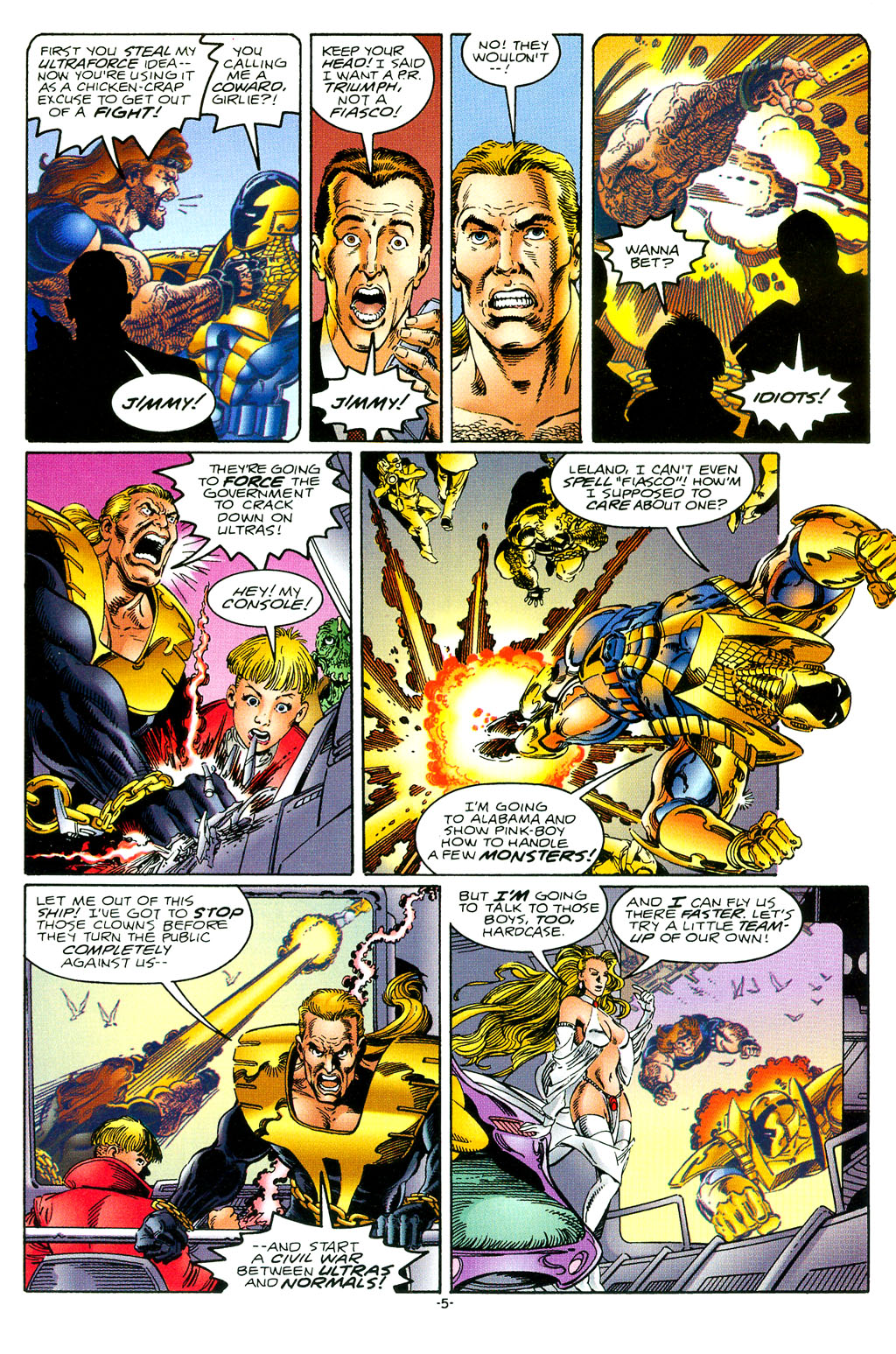Read online UltraForce (1994) comic -  Issue #1 - 6