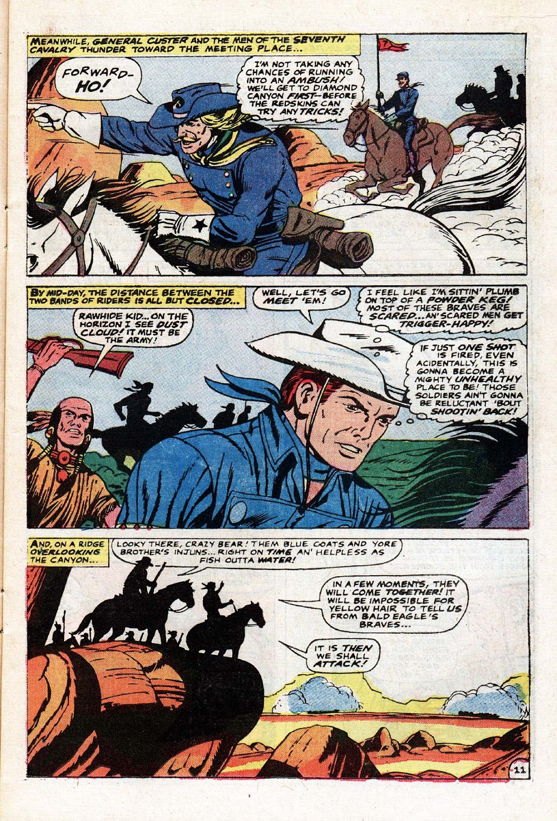 The Mighty Marvel Western issue 15 - Page 12