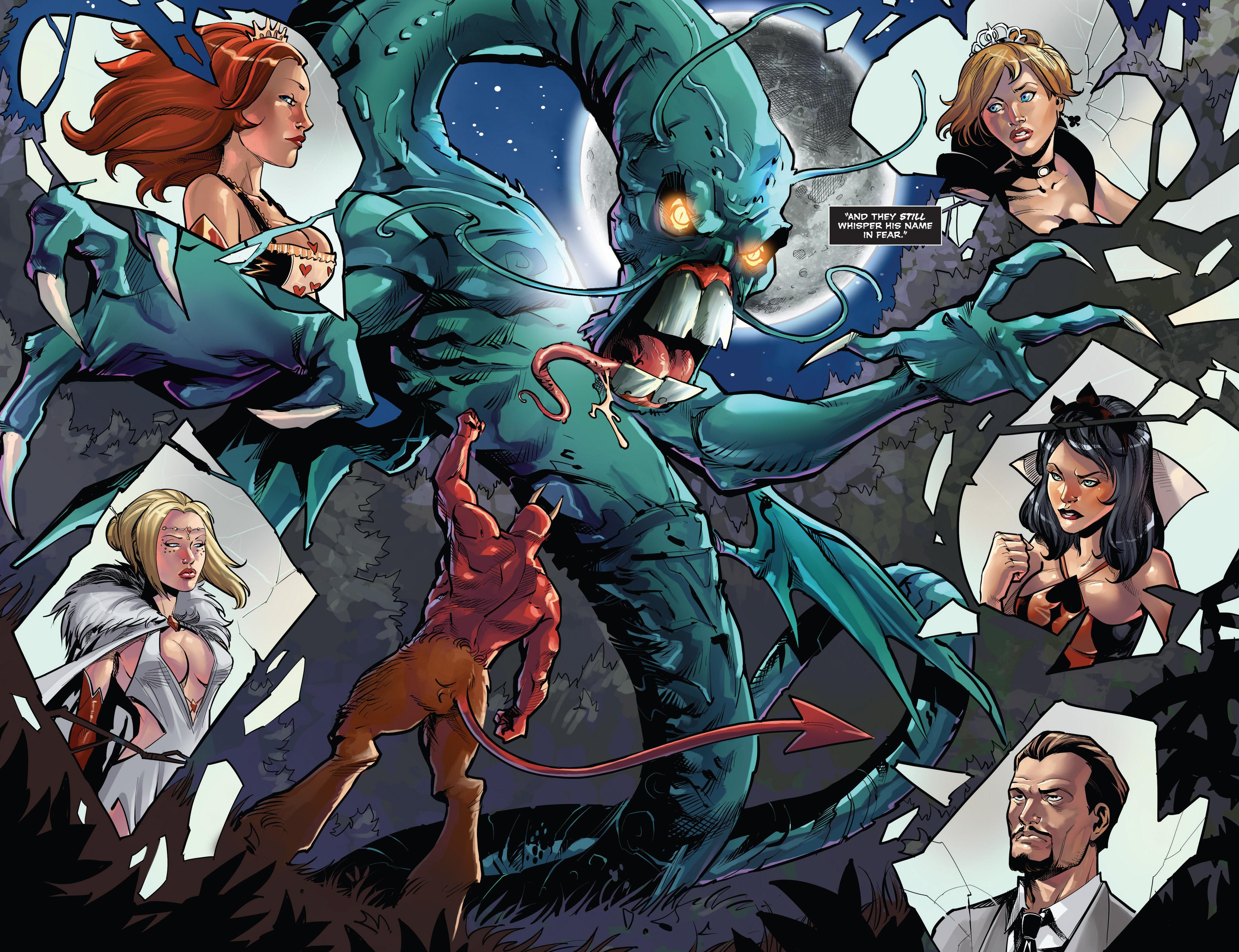 Read online Grimm Fairy Tales vs. Wonderland comic -  Issue #3 - 7