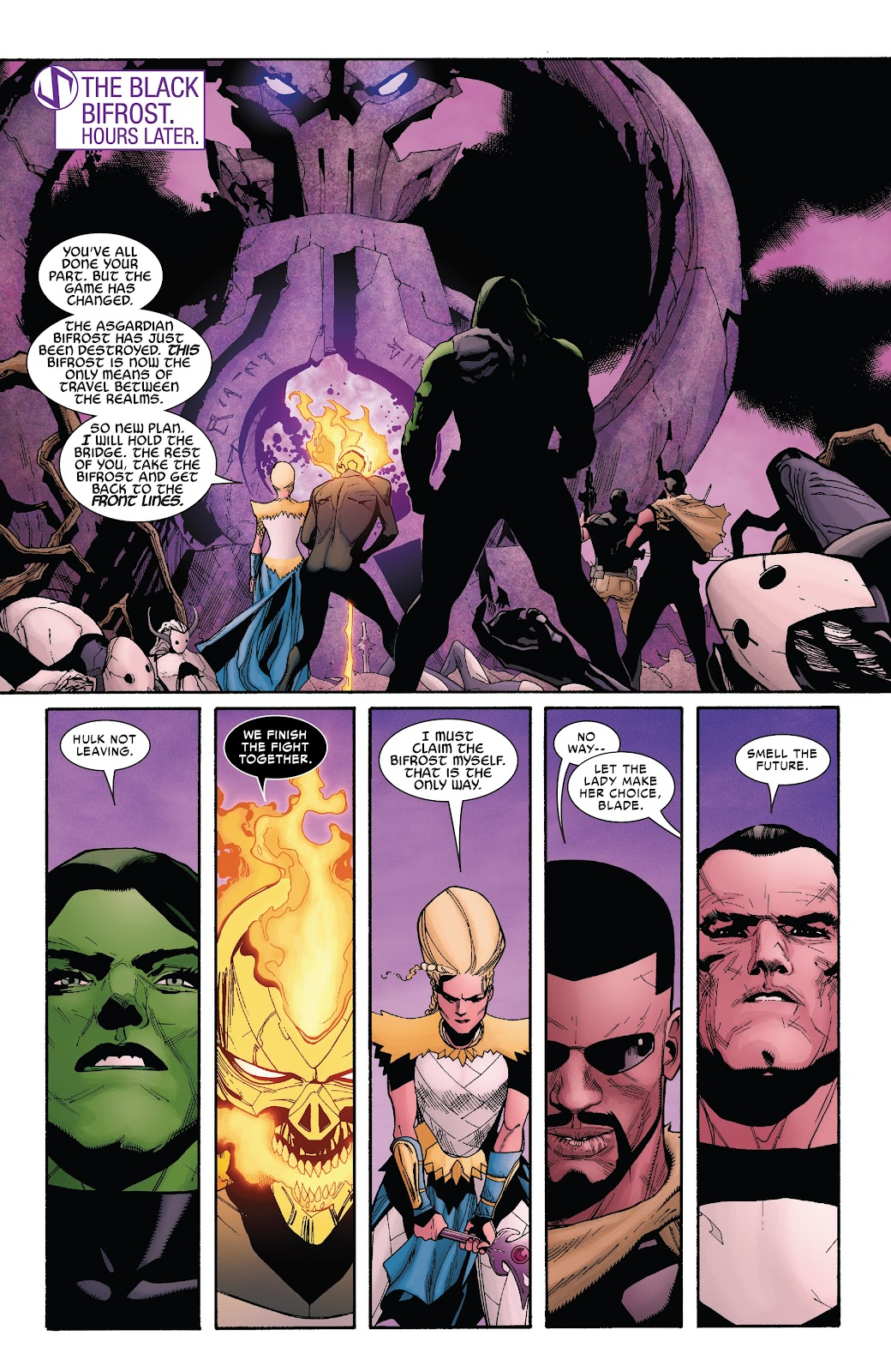 Read online War Of The Realms Strikeforce comic -  Issue # The Dark Elf Realm - 31