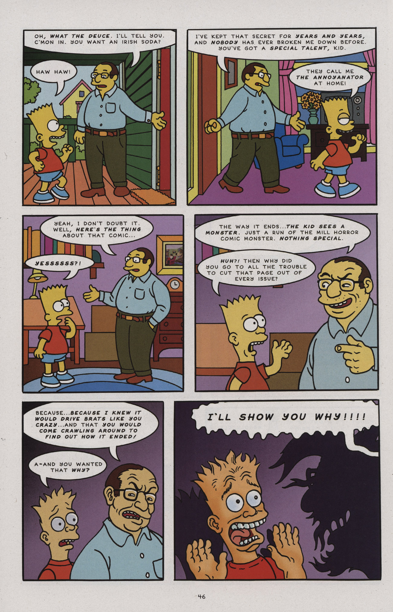 Read online Treehouse of Horror comic -  Issue #17 - 47