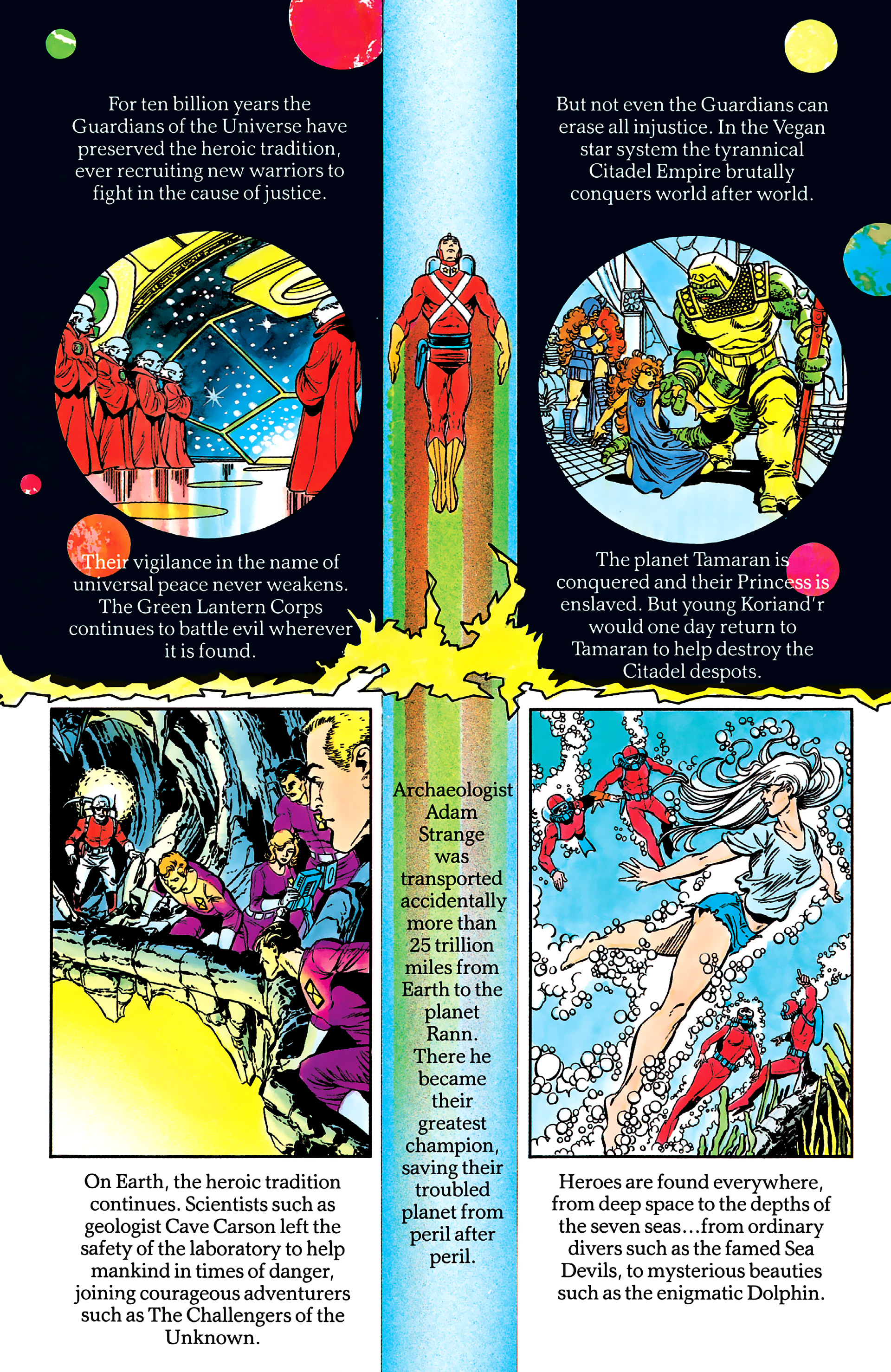 Read online History of the DC Universe comic -  Issue #2 - 19