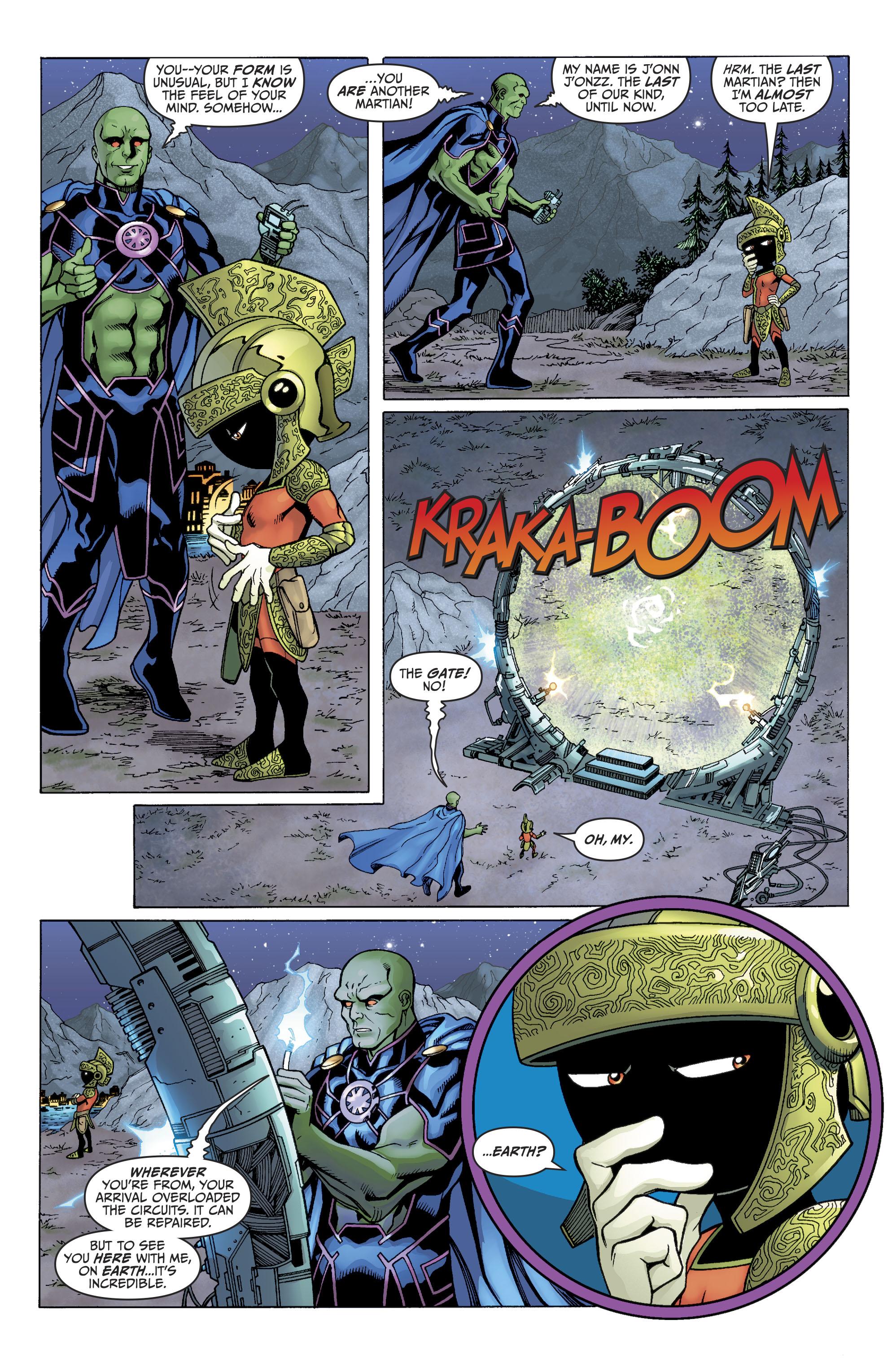 Read online Martian Manhunter/Marvin the Martian Special comic -  Issue # Full - 8