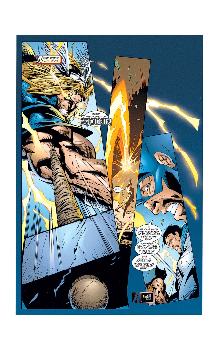 Read online Avengers (1996) comic -  Issue #2 - 12