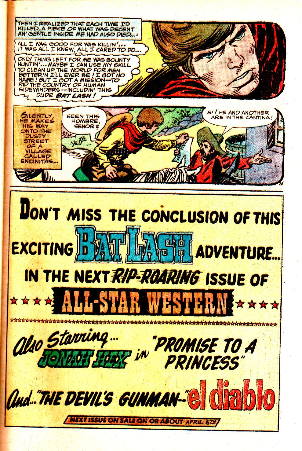 Read online All-Star Western (1970) comic -  Issue #11 - 49