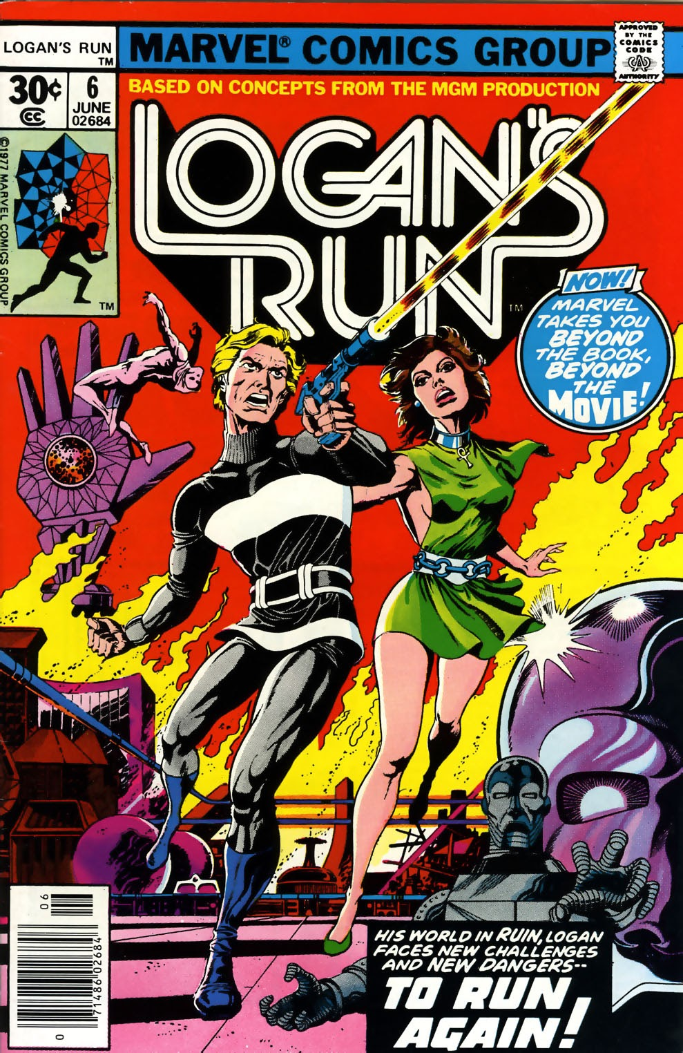 Logan's Run (1977) issue 6 - Page 1