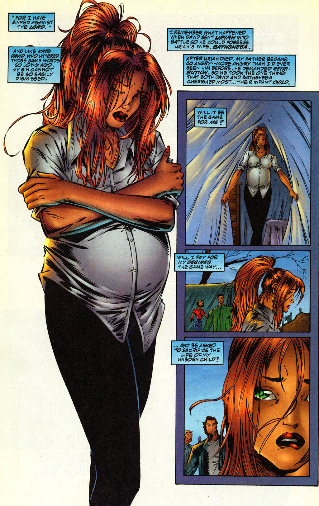 Read online Avengelyne (1996) comic -  Issue #2 - 4