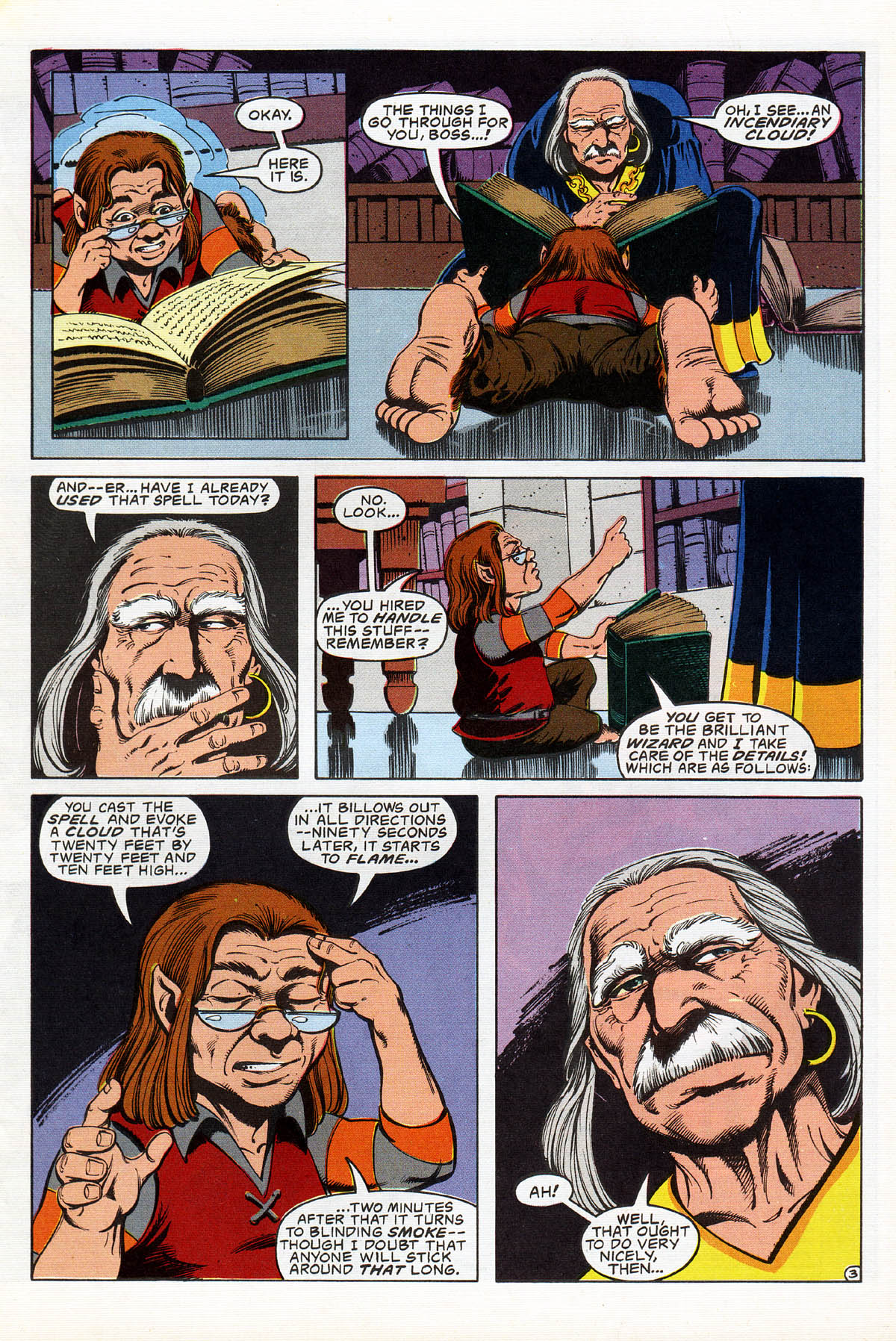 Read online Advanced Dungeons & Dragons comic -  Issue #17 - 5