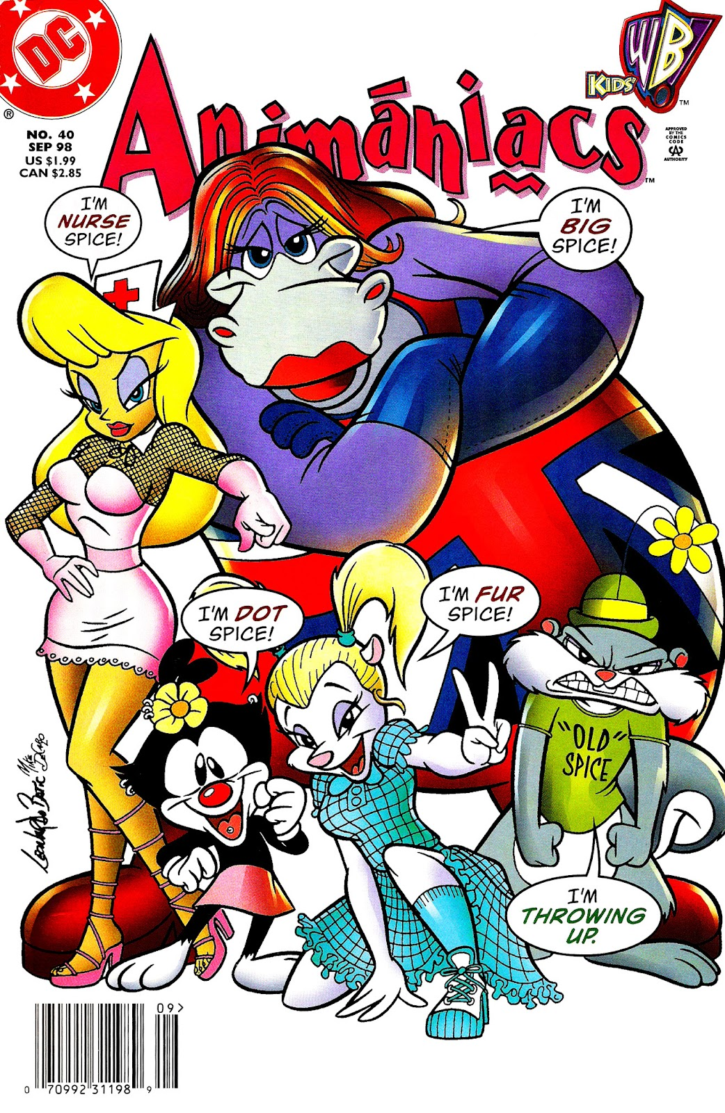 Animaniacs (1995) issue 40 - Page 1