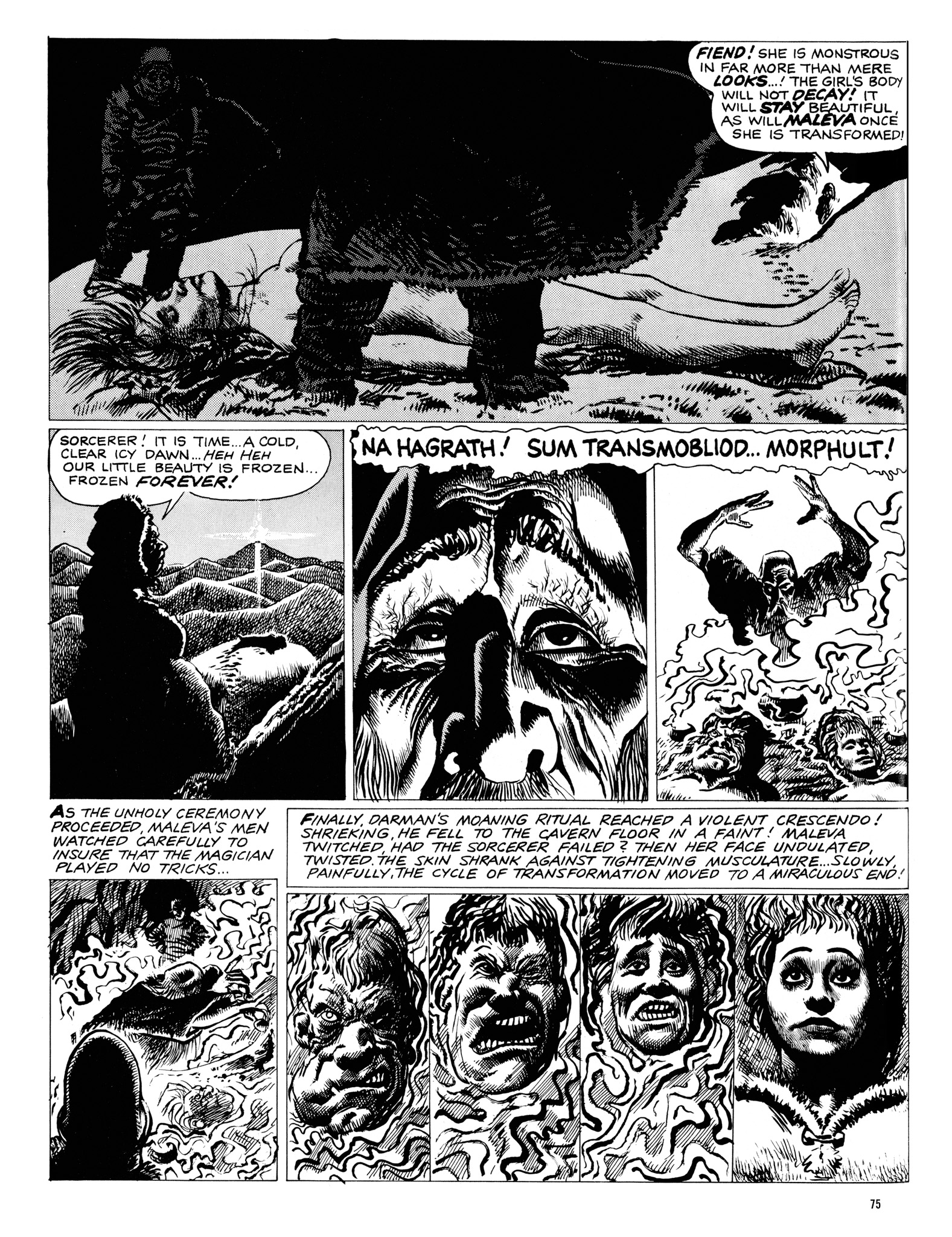 Read online Eerie Archives comic -  Issue # TPB 18 - 76