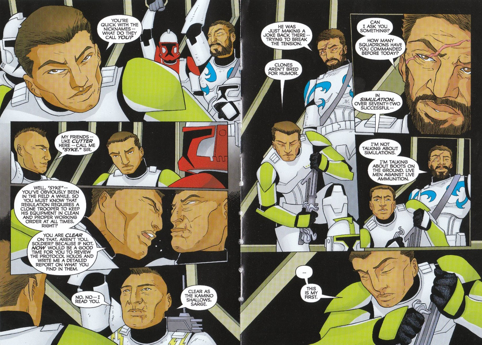 Read online Star Wars: The Clone Wars - The Enemy Within comic -  Issue # Full - 6