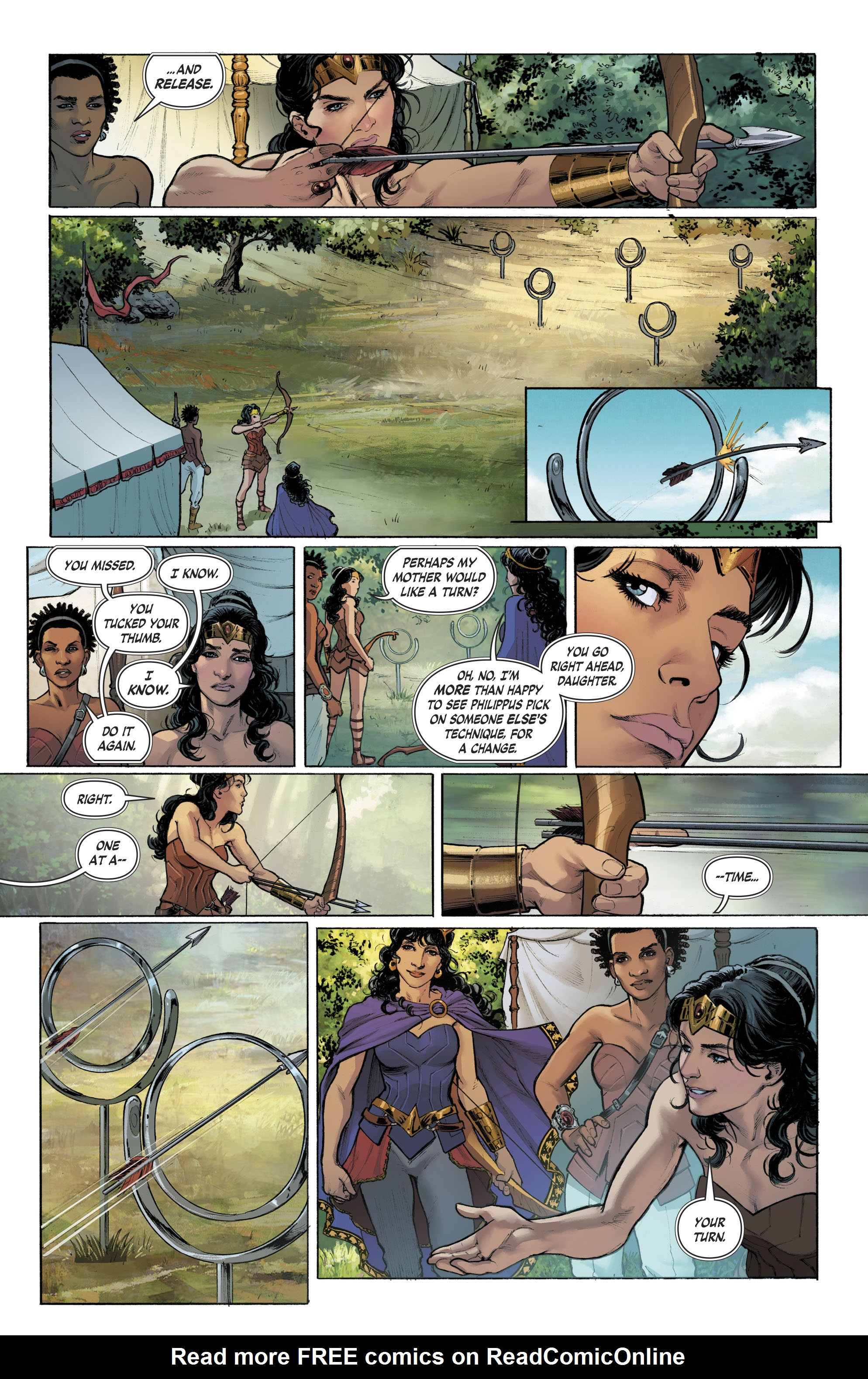 Read online Free Comic Book Day 2017 comic -  Issue # Wonder Woman - 8