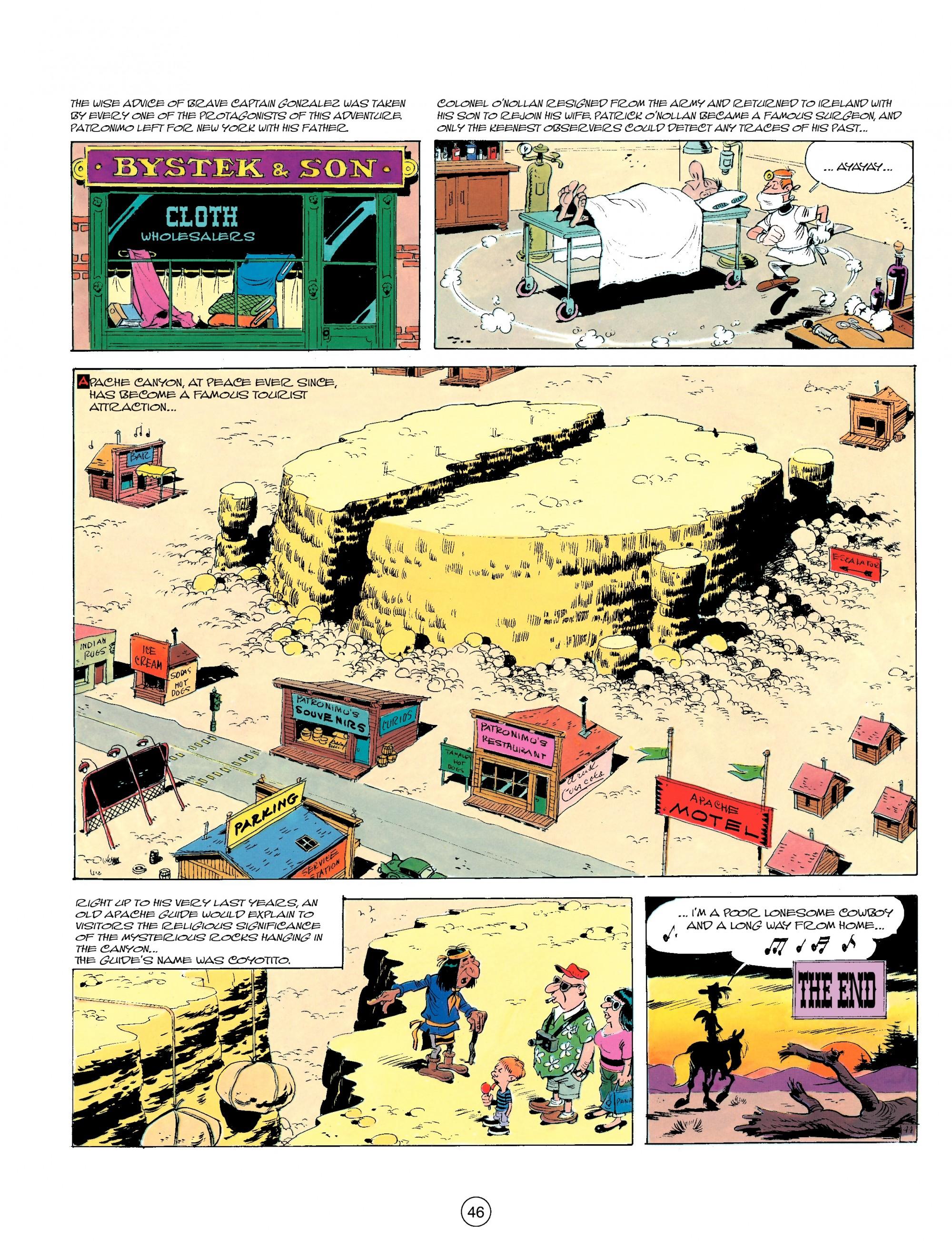 Read online A Lucky Luke Adventure comic -  Issue #17 - 46