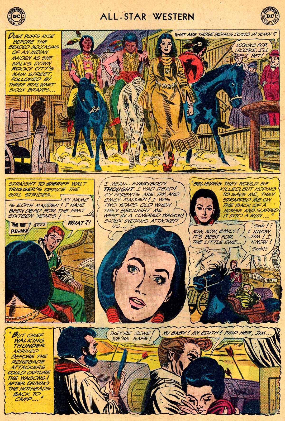 Read online All-Star Western (1951) comic -  Issue #115 - 26