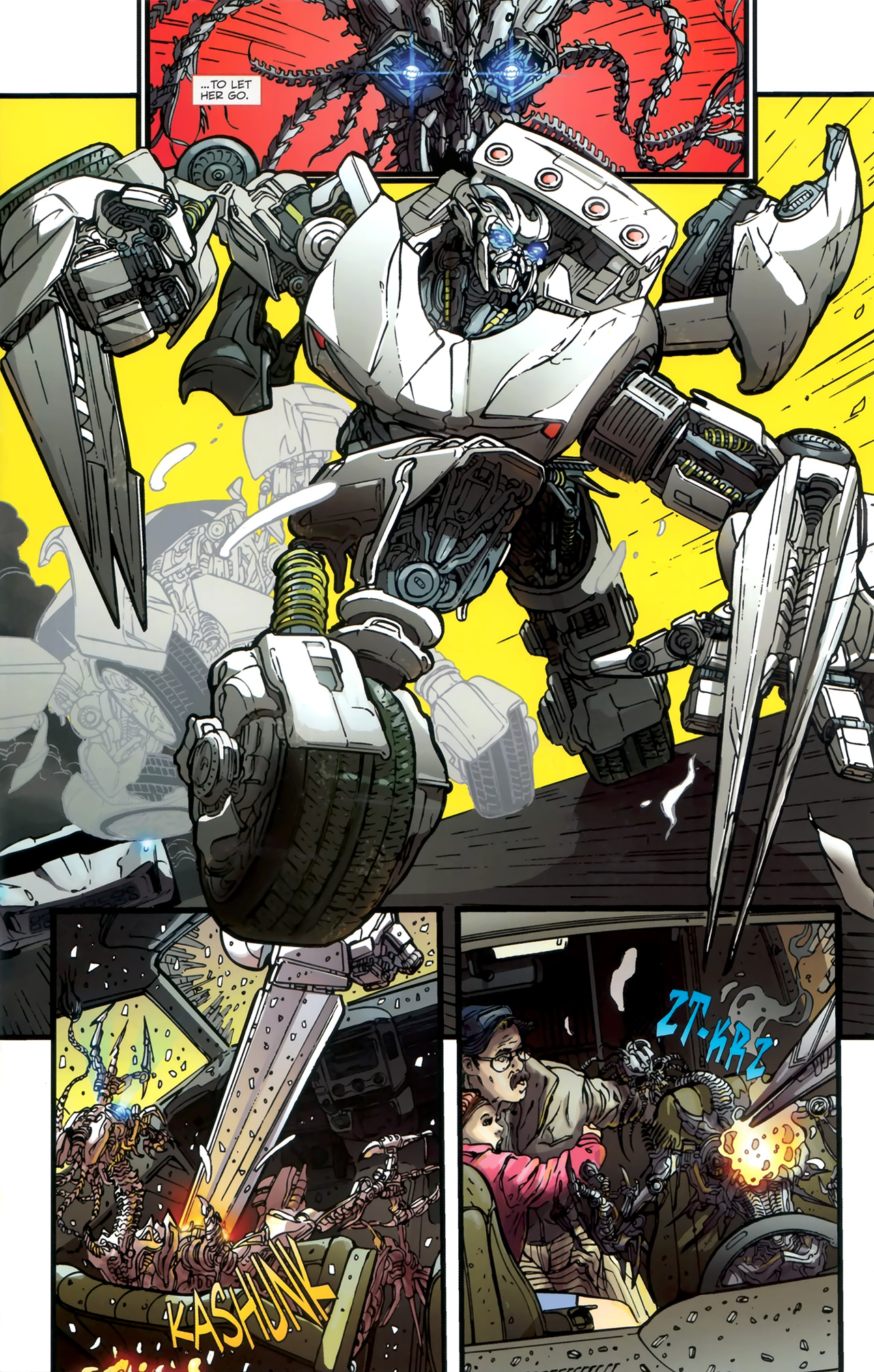 Read online Transformers: Nefarious comic -  Issue #1 - 9