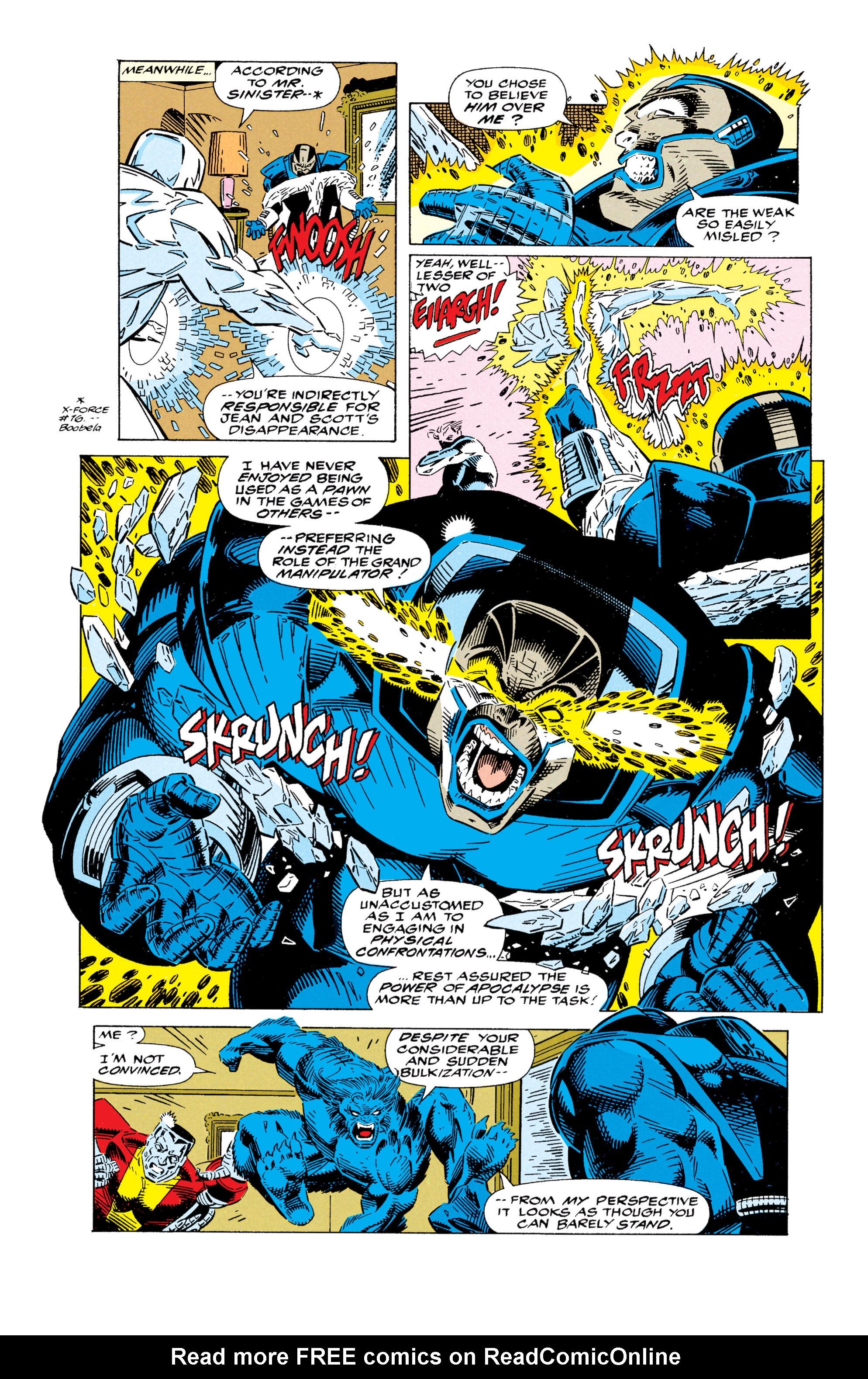 Read online Uncanny X-Men (1963) comic -  Issue #295 - 9
